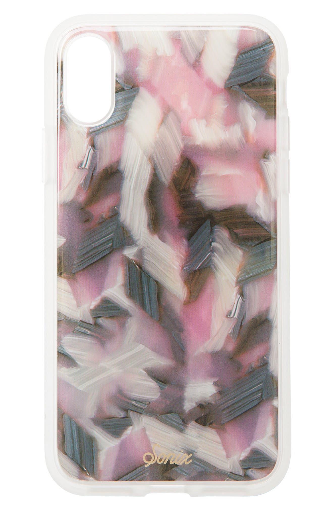 Main Image - Sonix Tortoise Print iPhone X Case