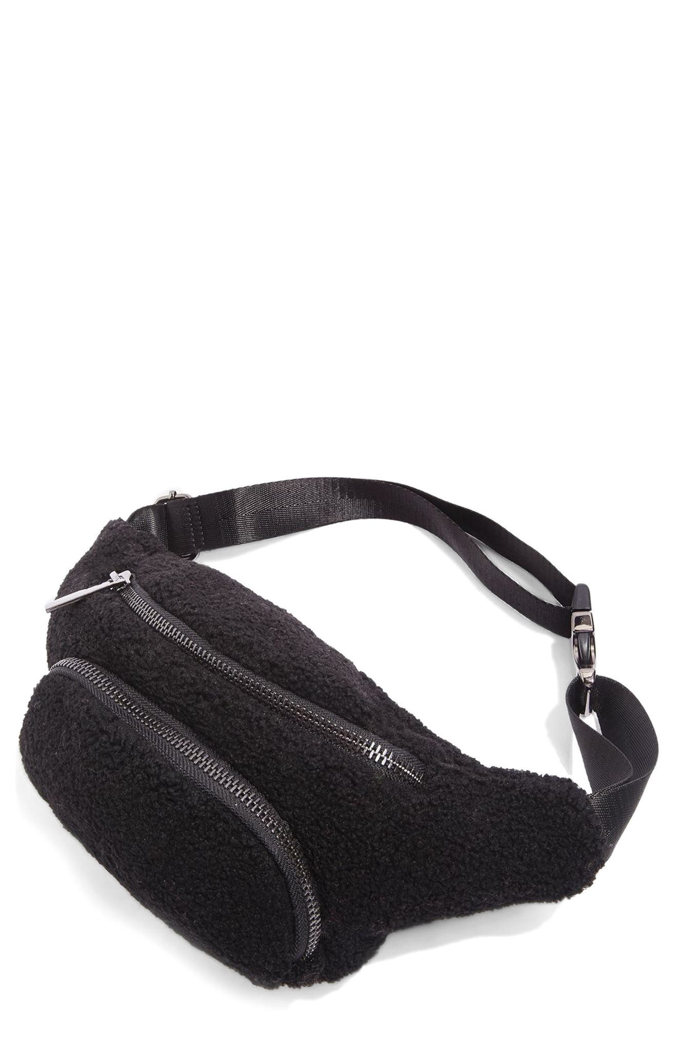 Benny Borg Belt Bag,                             Main thumbnail 1, color,                             Black