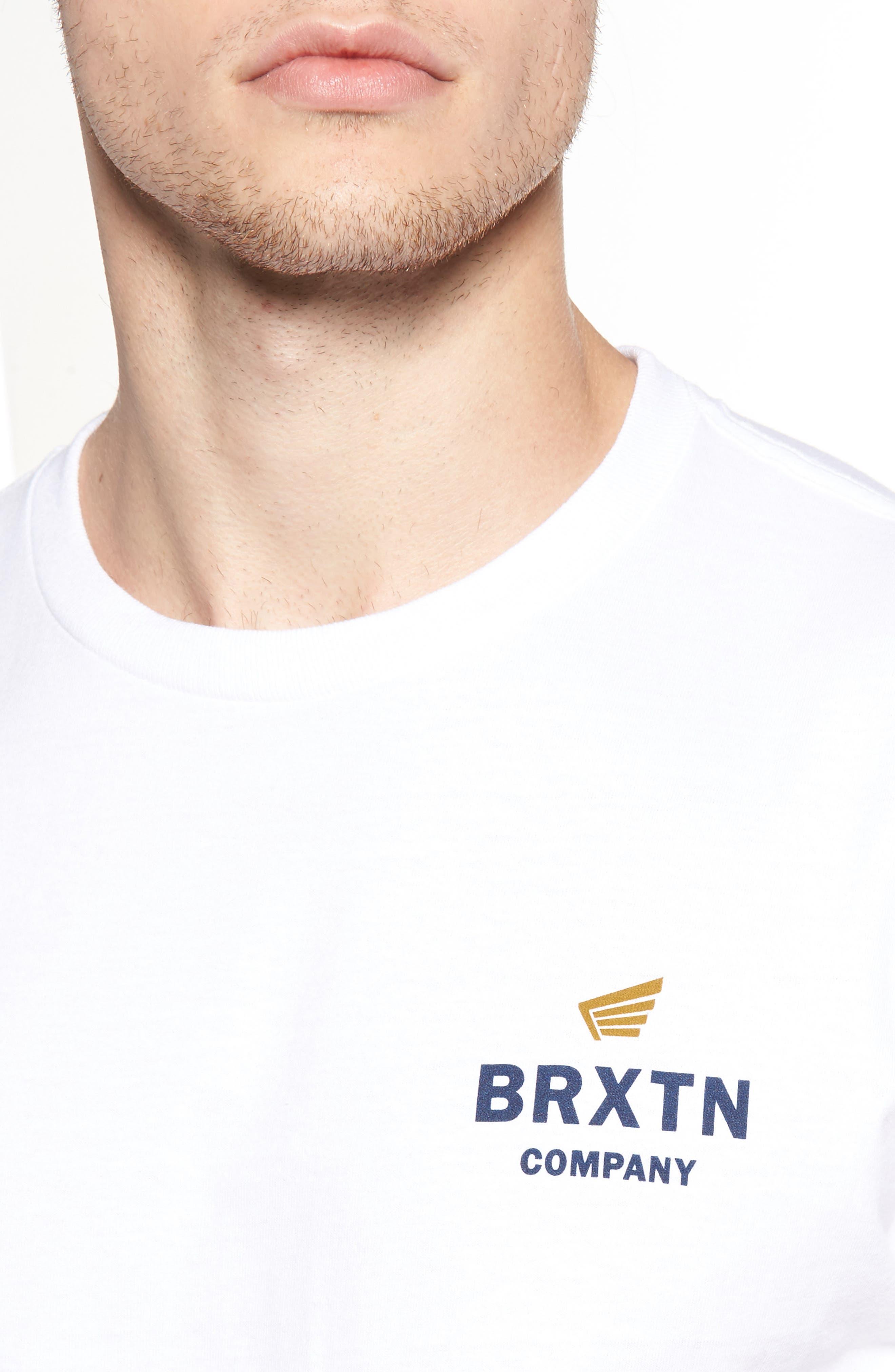 Alternate Image 4  - Brixton Peabody Standard T-Shirt