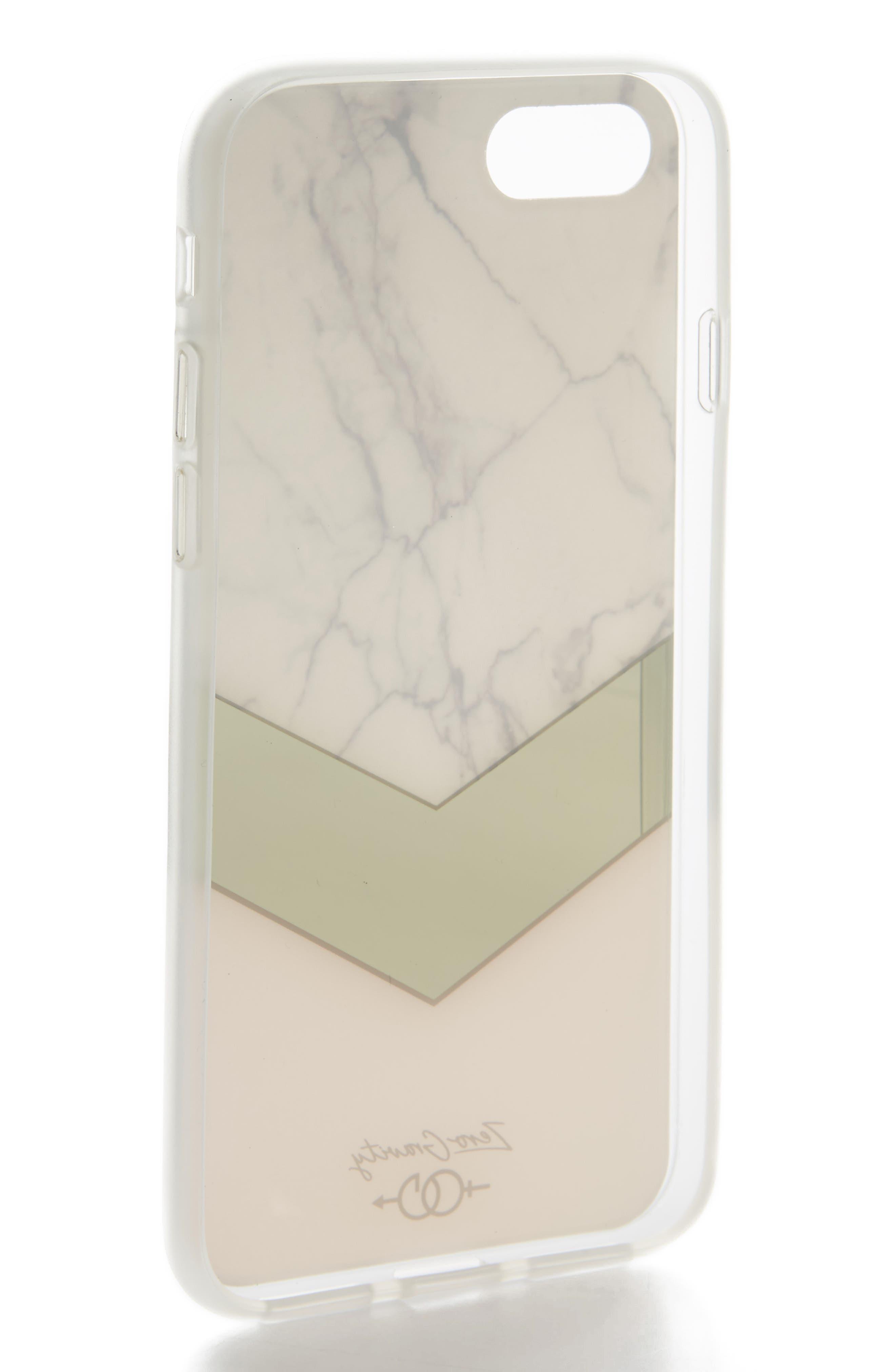 Monaco iPhone 7 & 7 Plus Case,                             Alternate thumbnail 2, color,                             White