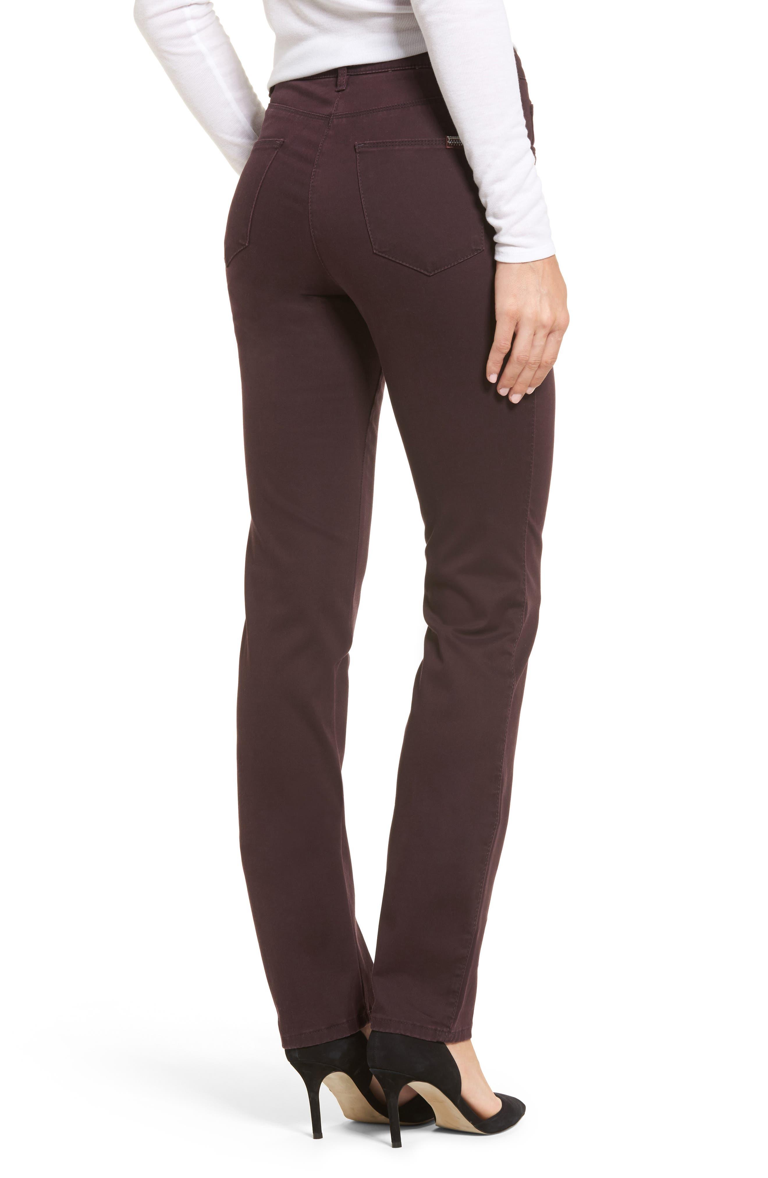 Straight Leg Pants,                             Alternate thumbnail 2, color,                             Amarone
