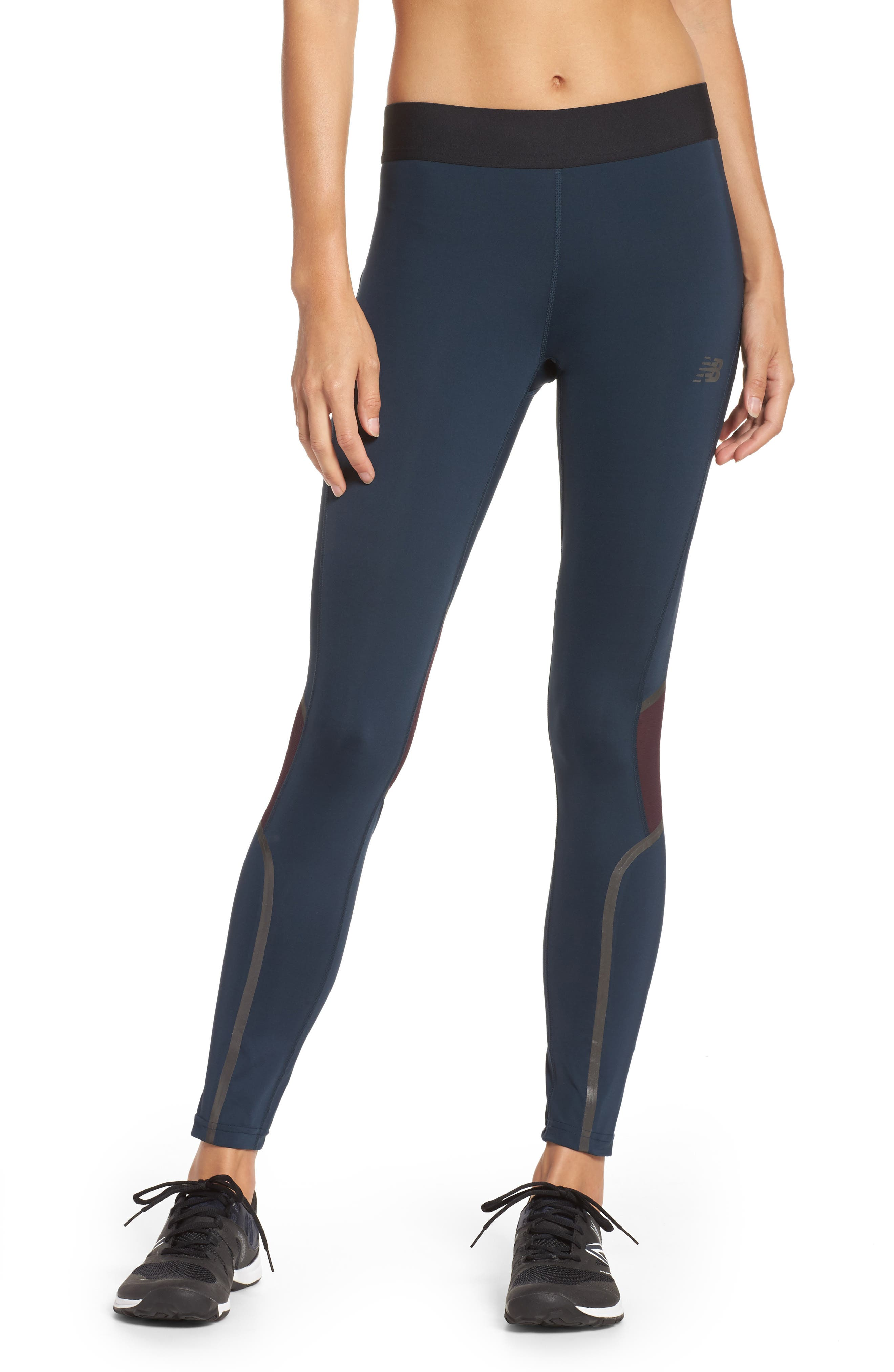 Alternate Image 1 Selected - New Balance Precision Running Tights