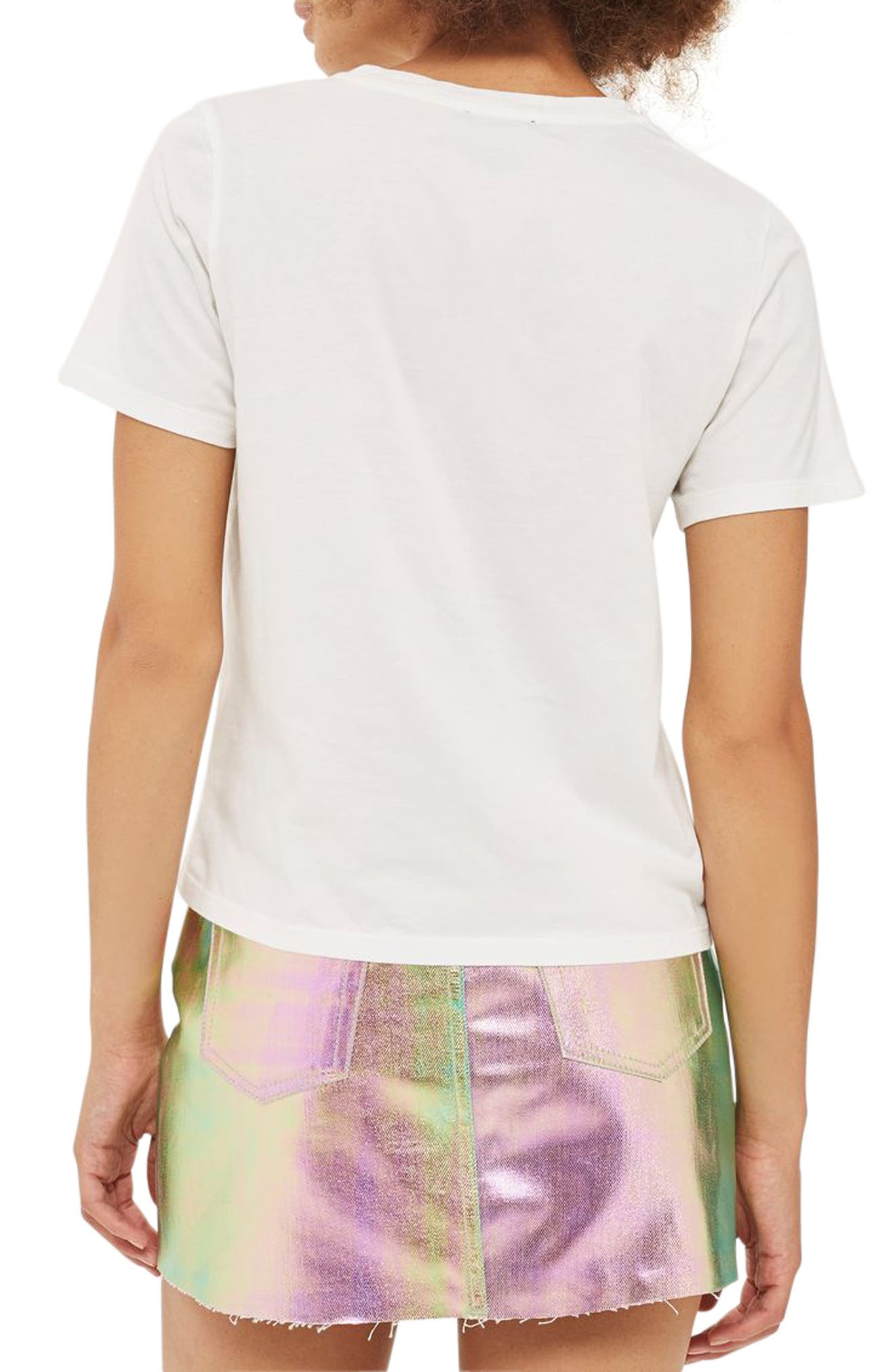 Alternate Image 3  - Topshop Read My Lips Graphic Tee