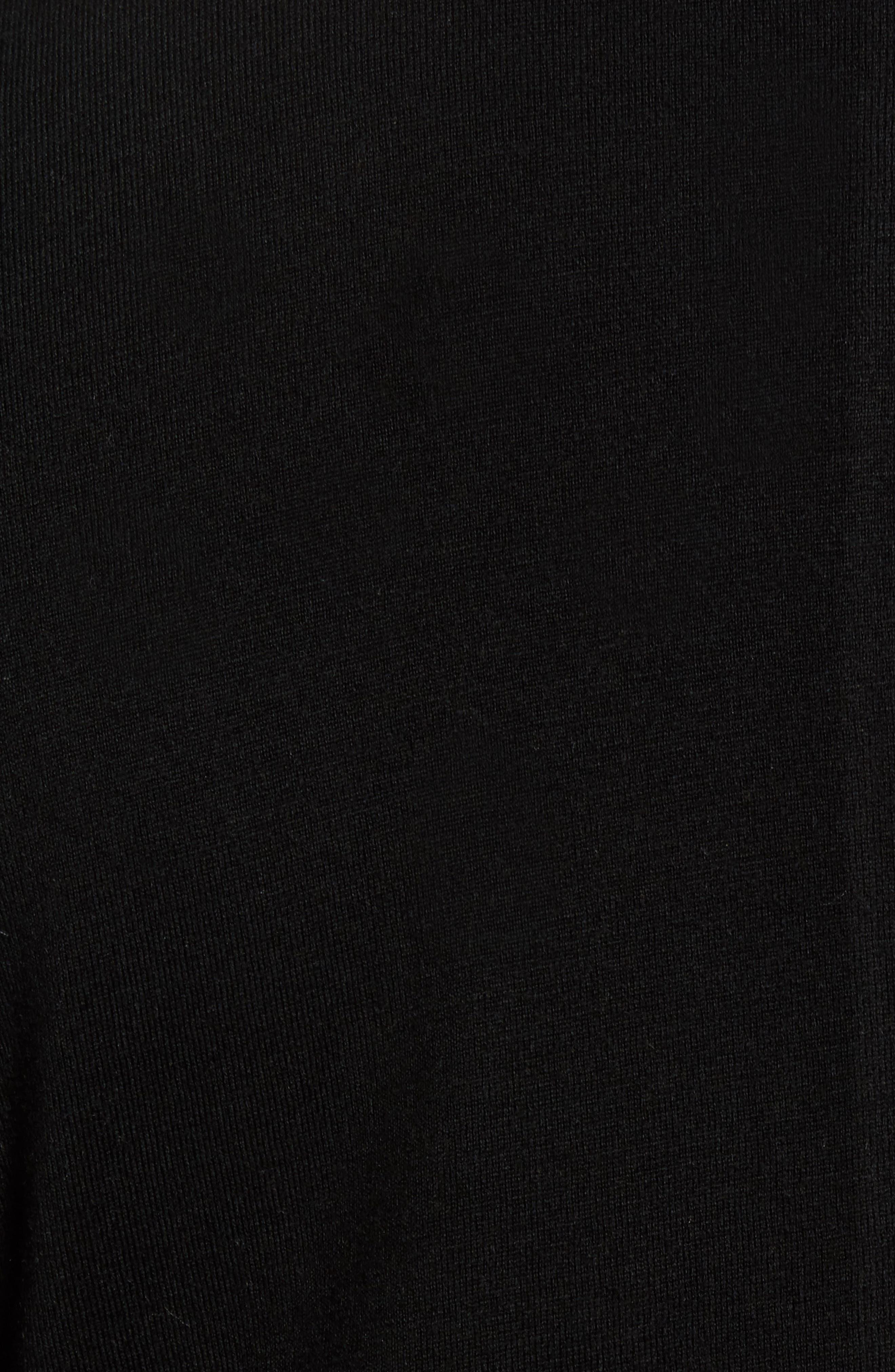 Crown Classic Fit Blazer,                             Alternate thumbnail 5, color,                             Black