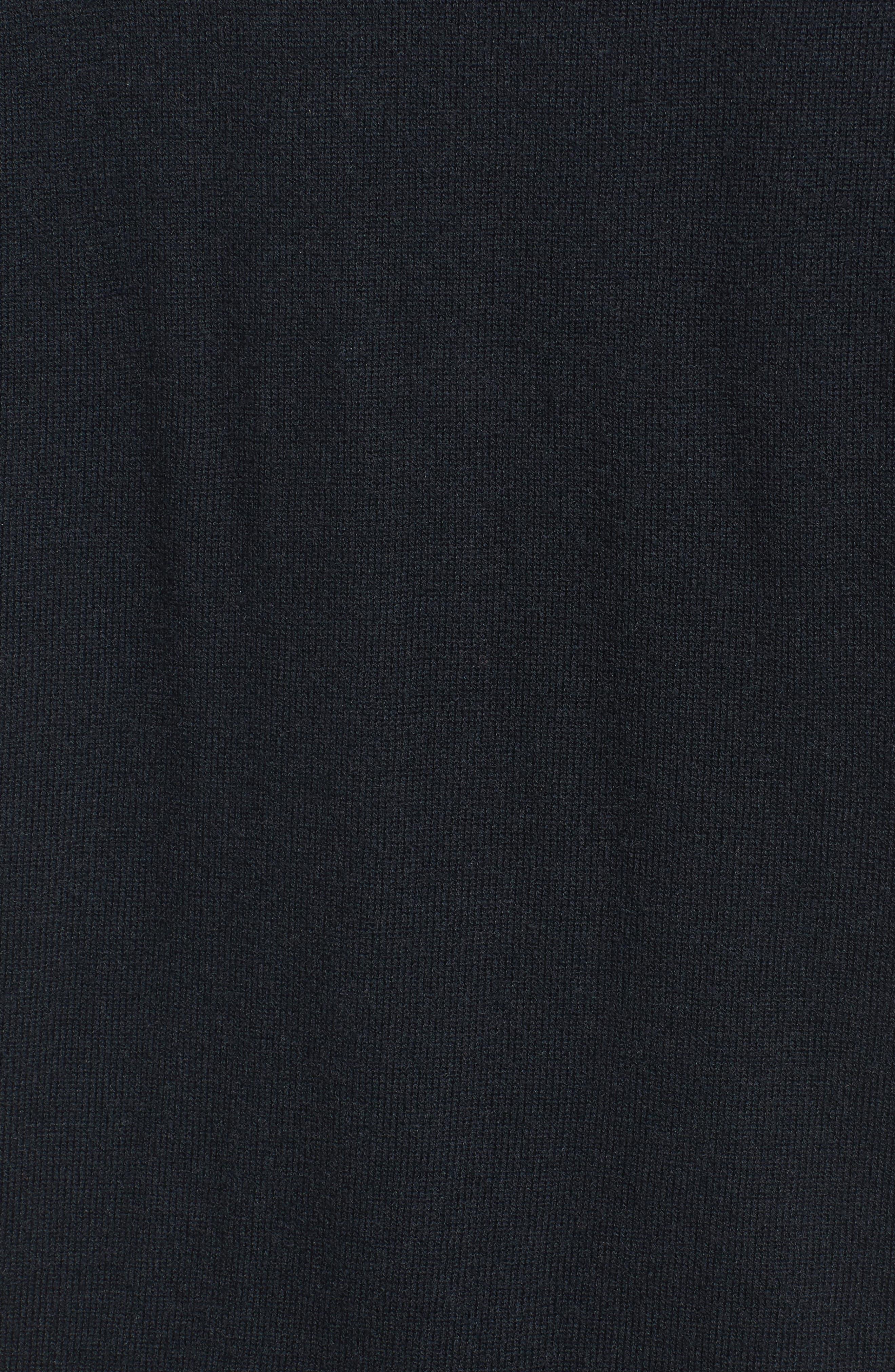 Spliced Tank Sweater,                             Alternate thumbnail 5, color,                             Black Combo
