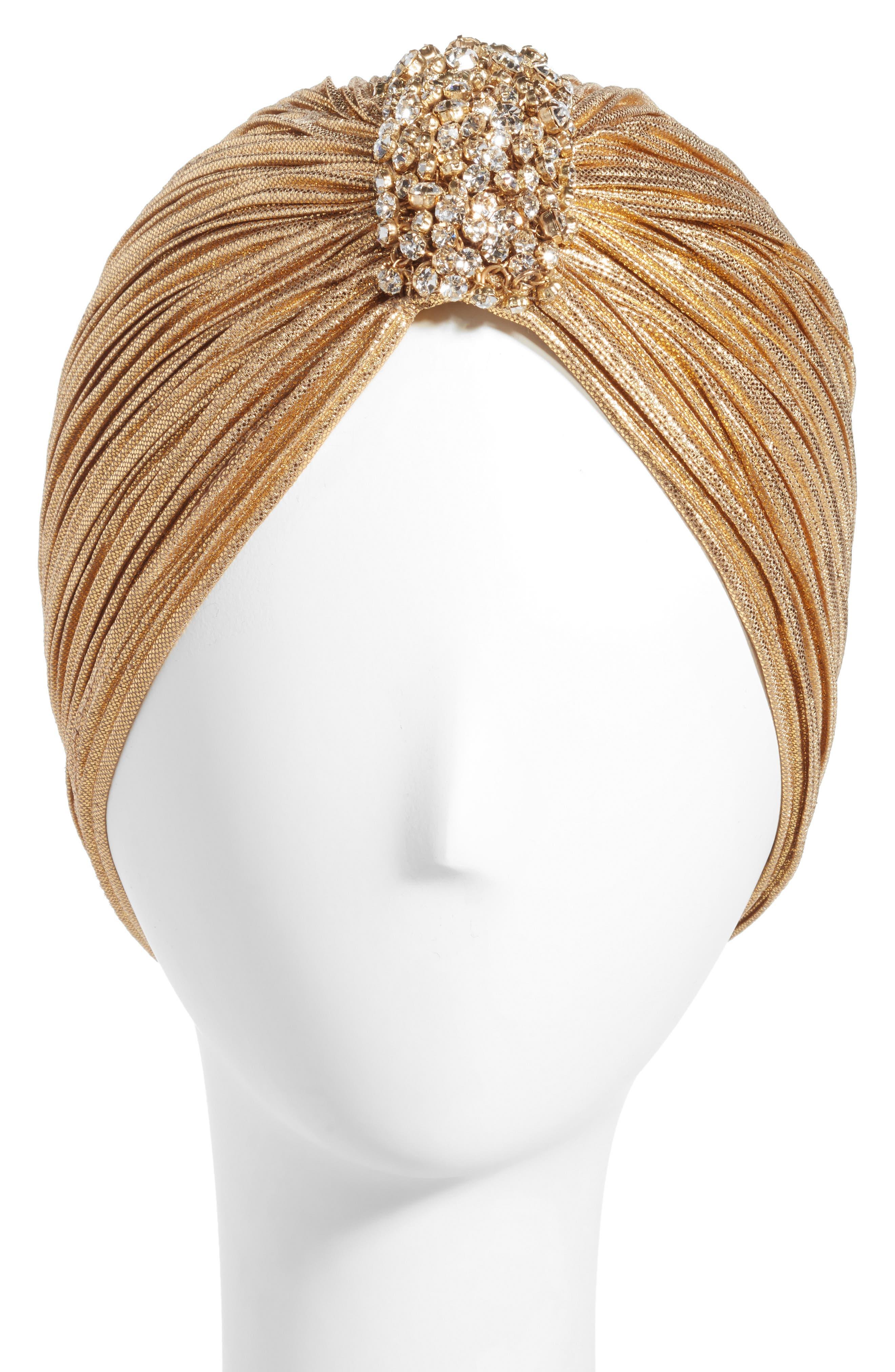 Alternate Image 1 Selected - Tasha Crystal Turban
