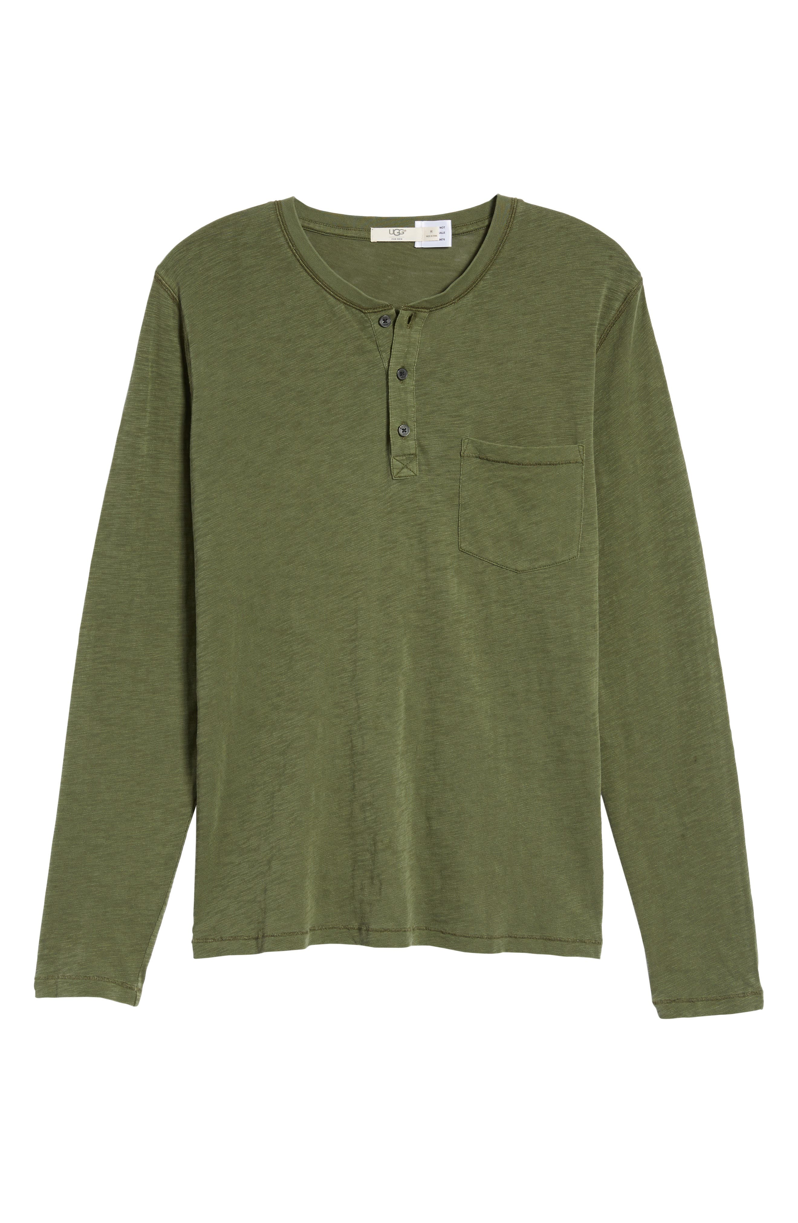 Alternate Image 6  - UGG® Long Sleeve Henley T-Shirt