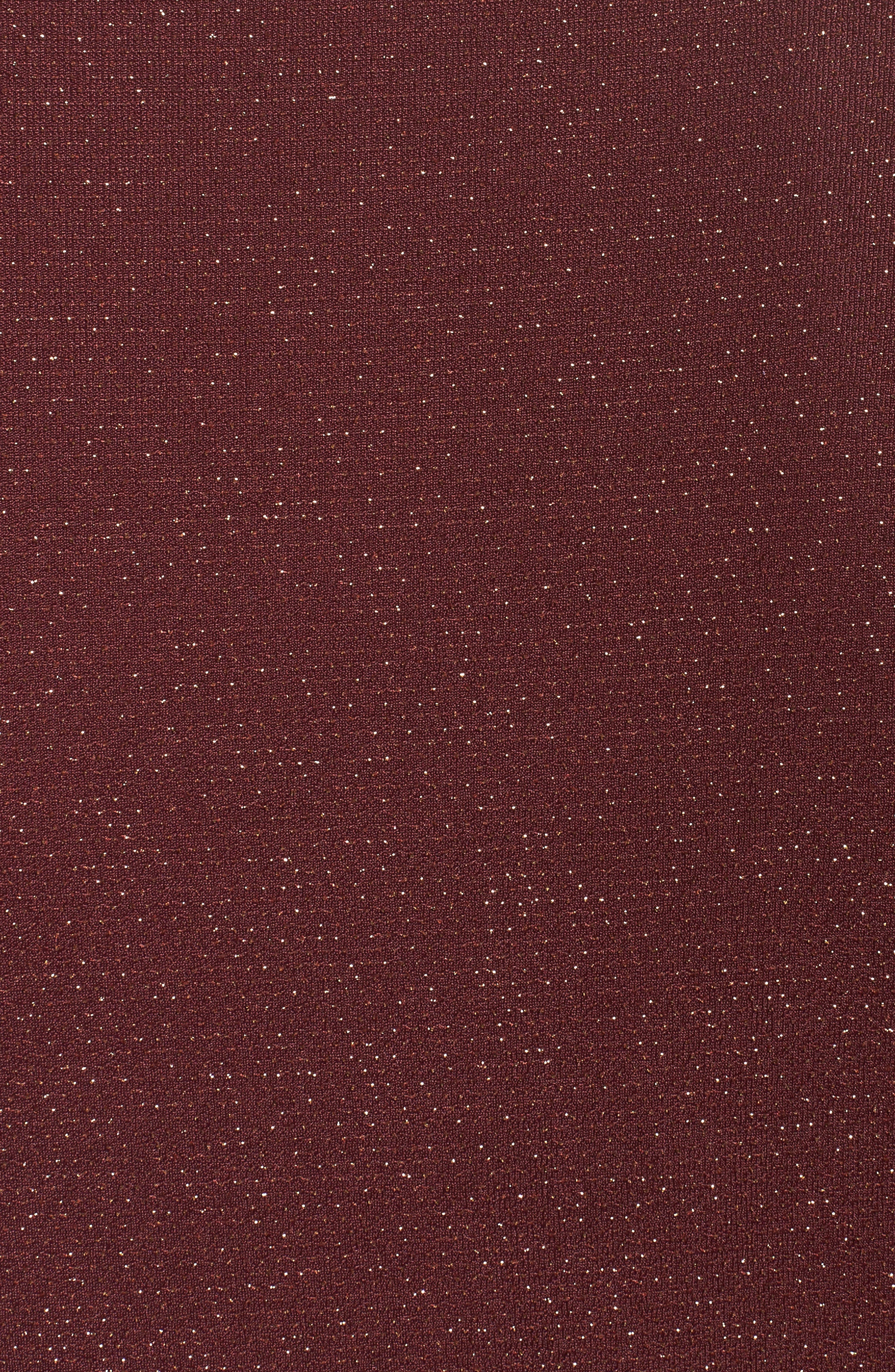 Metallic Top,                             Alternate thumbnail 5, color,                             Merlot