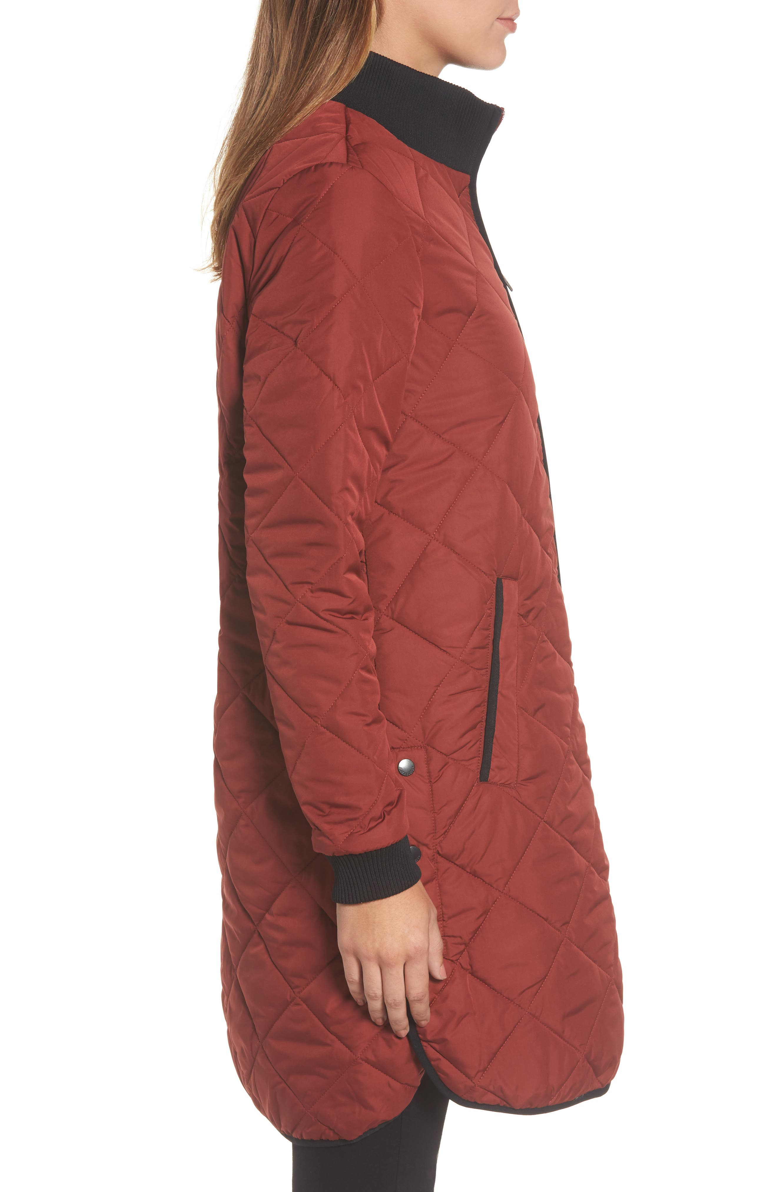 Alternate Image 3  - IIse Jacobsen Hornbaek Quilted Coat