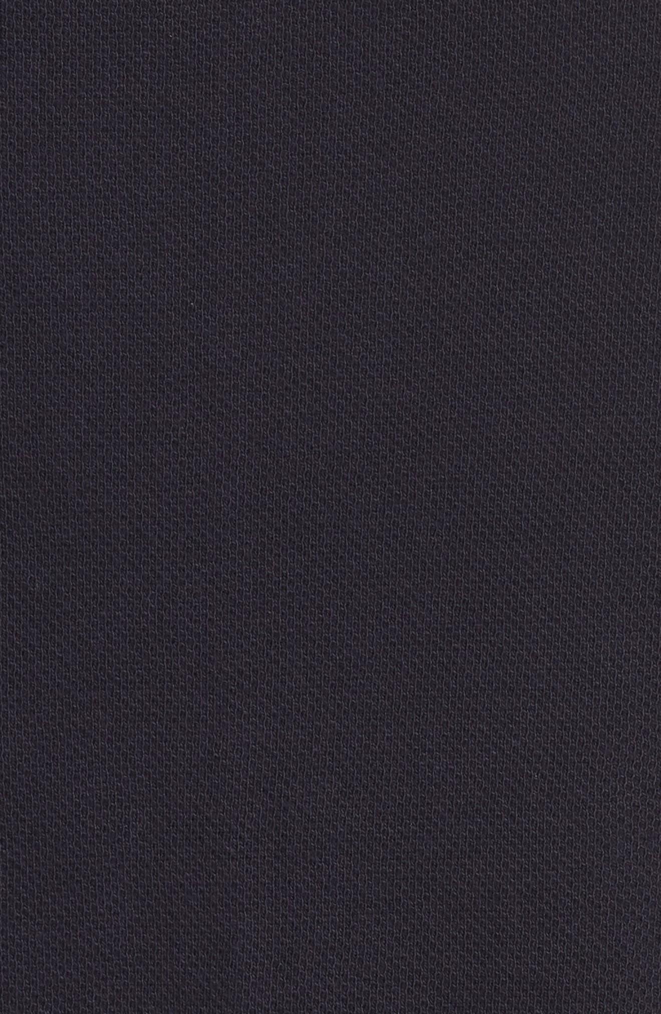 Jirgi Front Zip Sweater,                             Alternate thumbnail 5, color,                             Dark Naval Blue