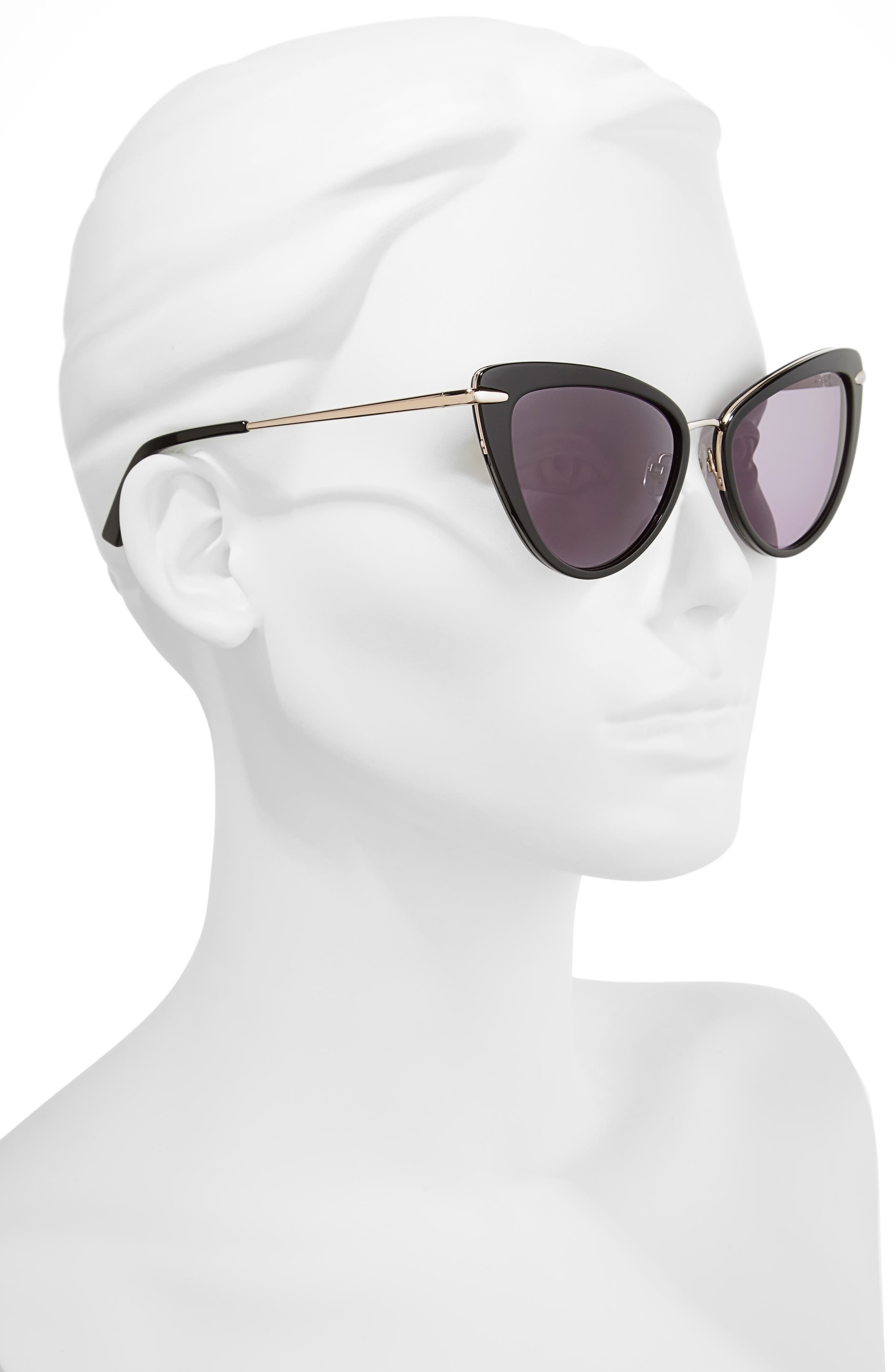 Alternate Image 2  - Ted Baker London 53mm Cat Eye Sunglasses