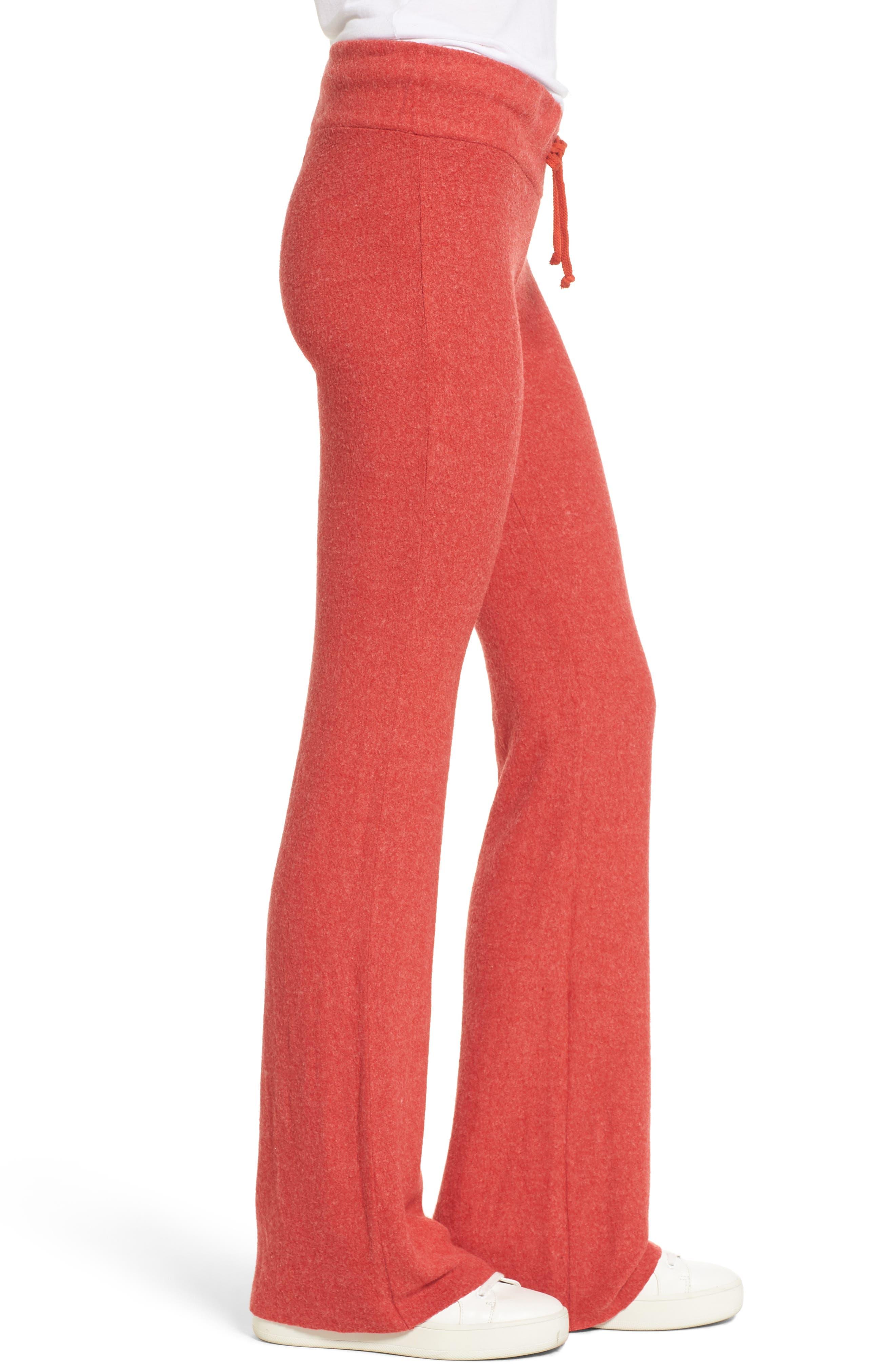 Flare Track Pants,                             Alternate thumbnail 3, color,                             India