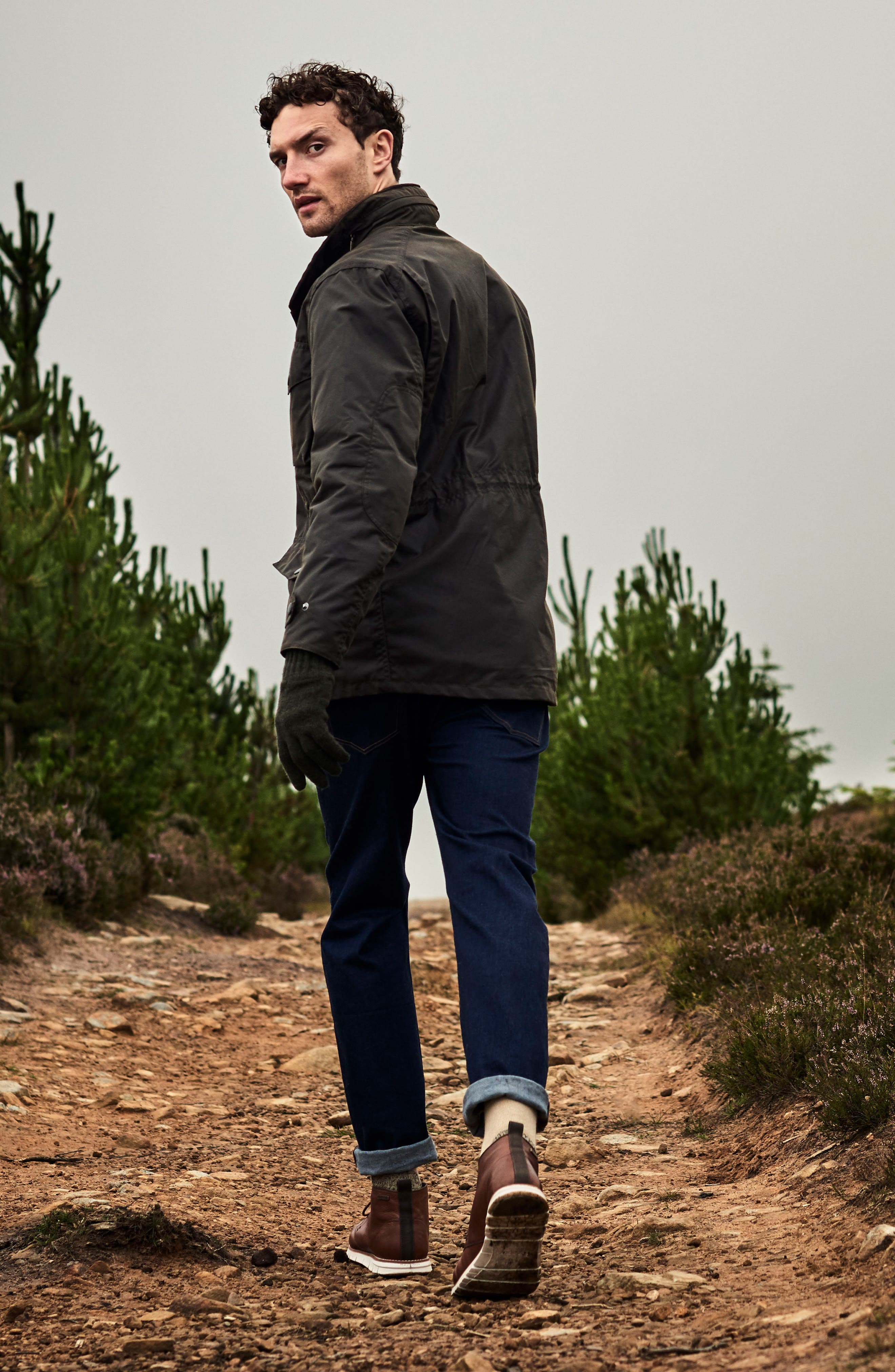 Alternate Image 7  - Barbour 'Sapper' Regular Fit Waterproof Waxed Cotton Jacket