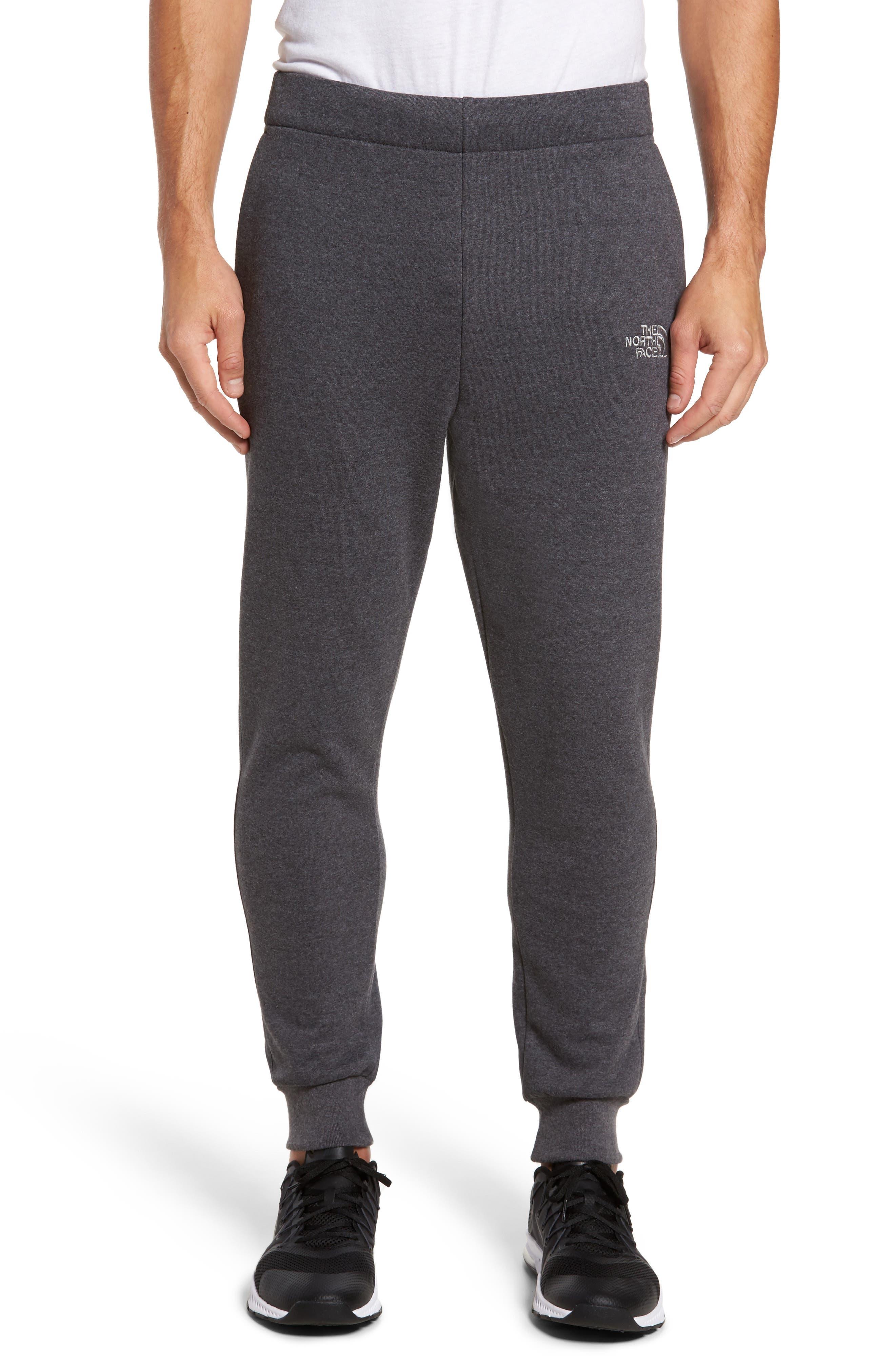 Avalon Fleece Jogger Pants,                         Main,                         color, Dark Grey Hthr/Monument Grey