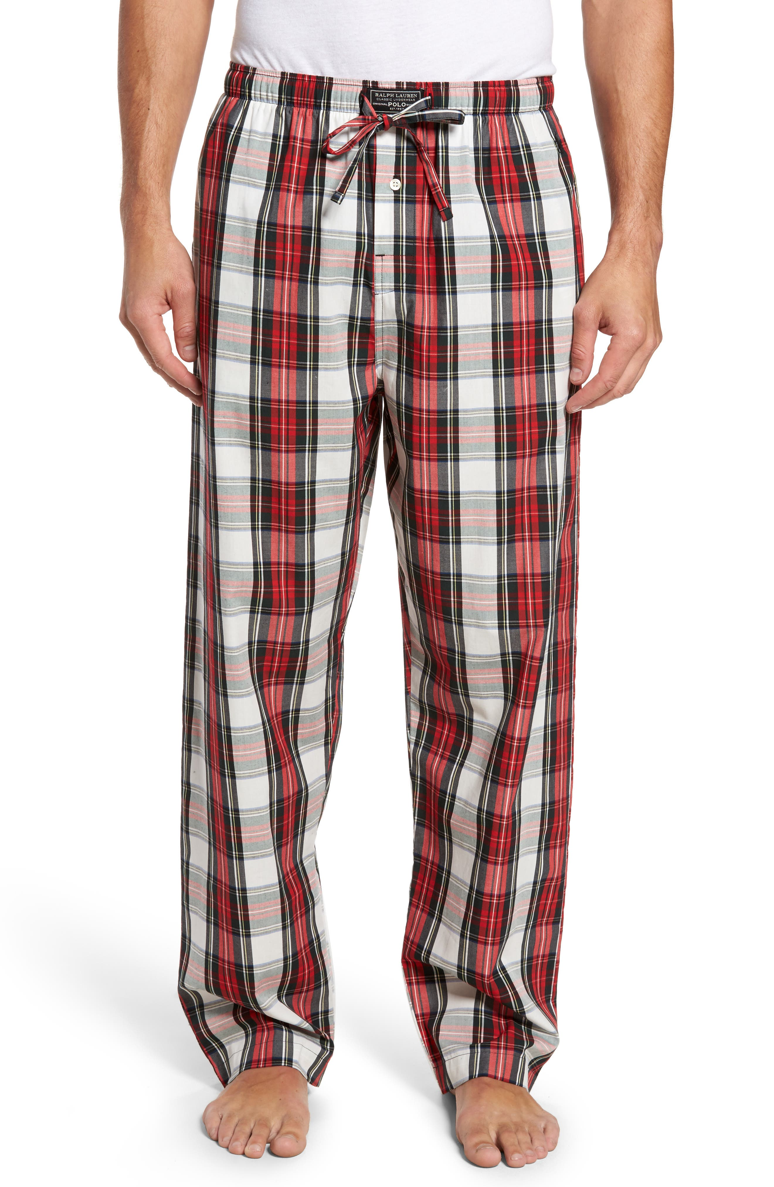 Polo Ralph Lauren Plaid Cotton Lounge Pants