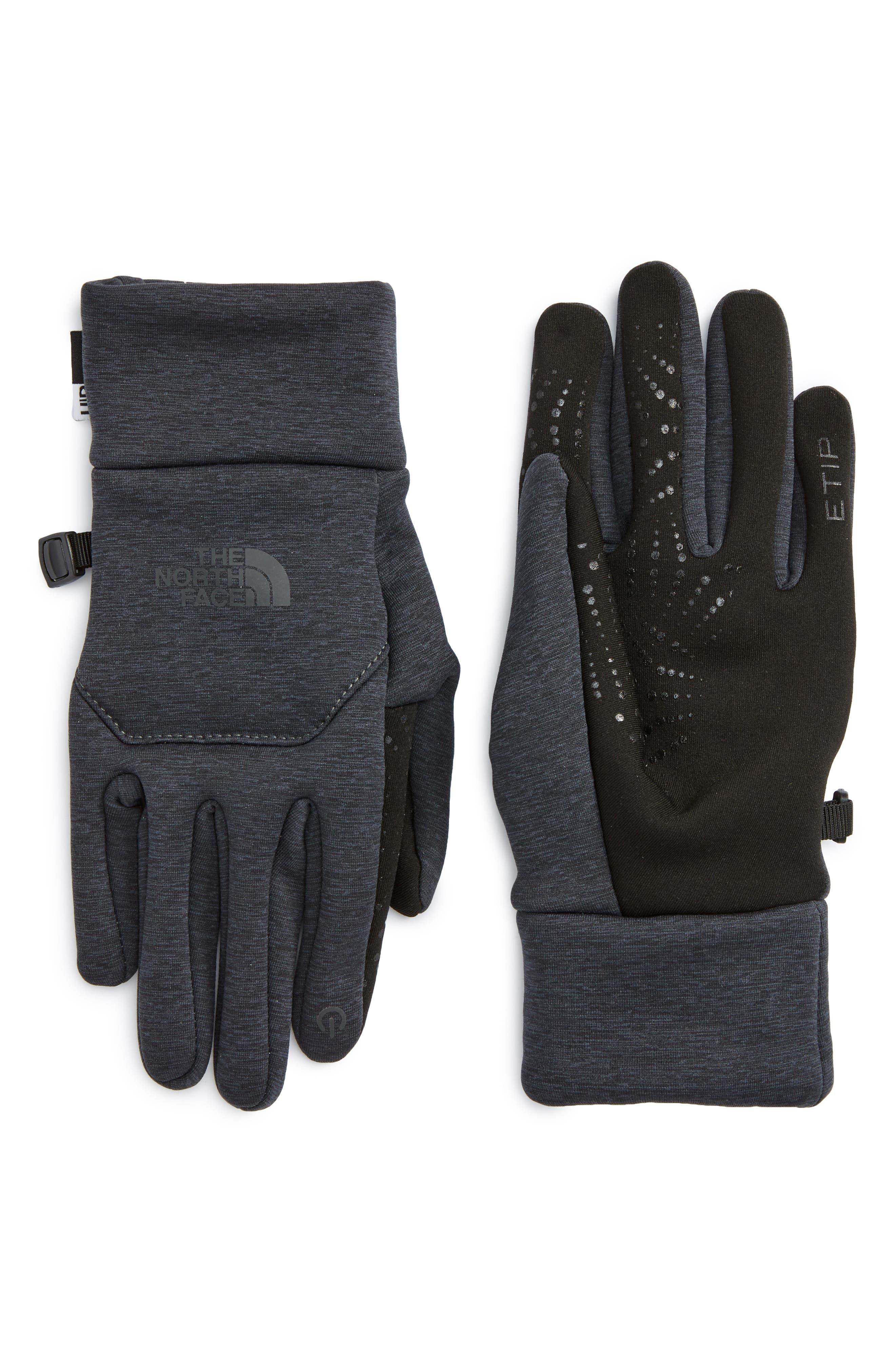 Etip Gloves,                         Main,                         color, Asphalt Grey Heather Print