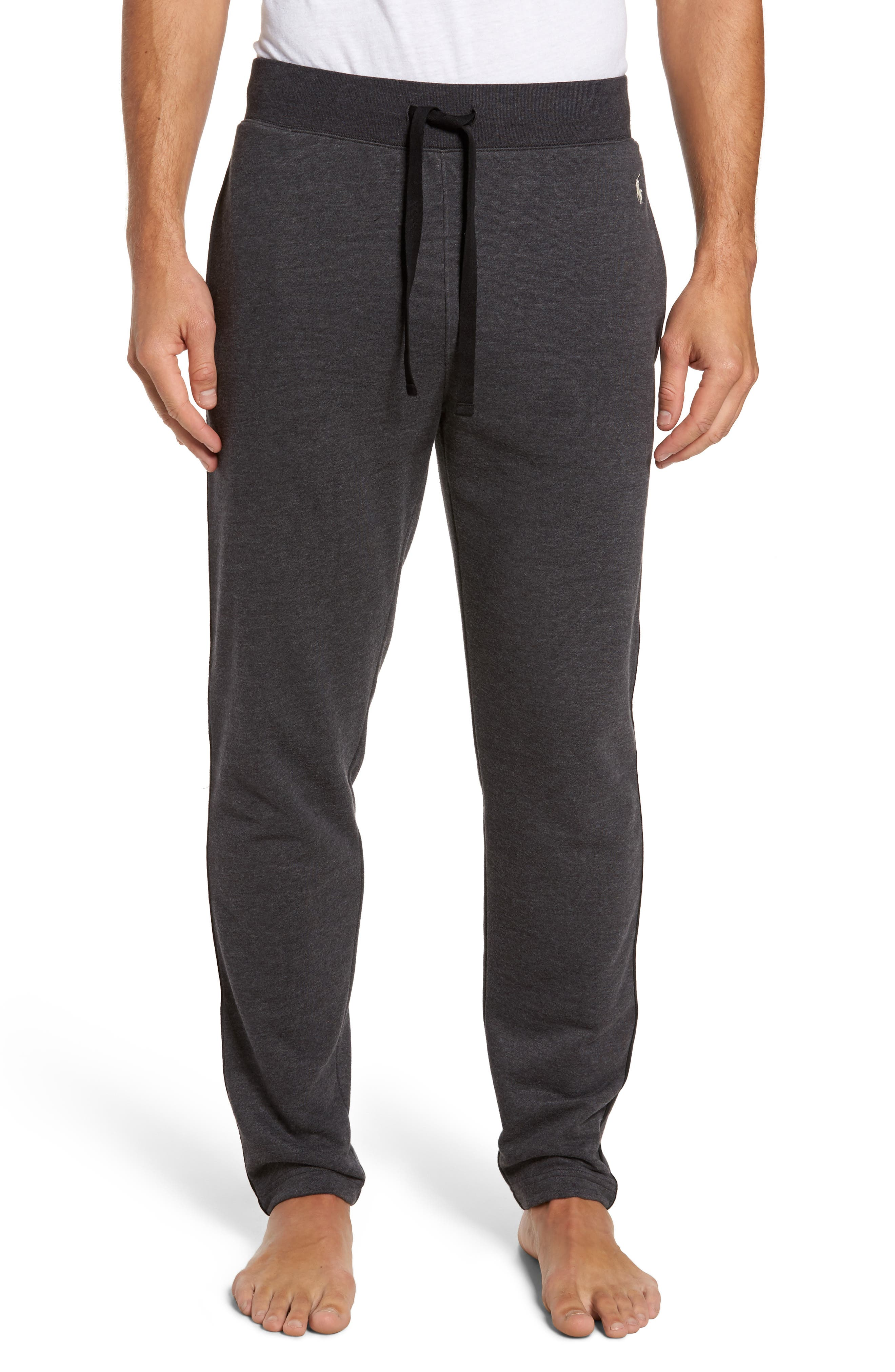 Polo Ralph Lauren Slim Fit Brushed Fleece Pajama Pants