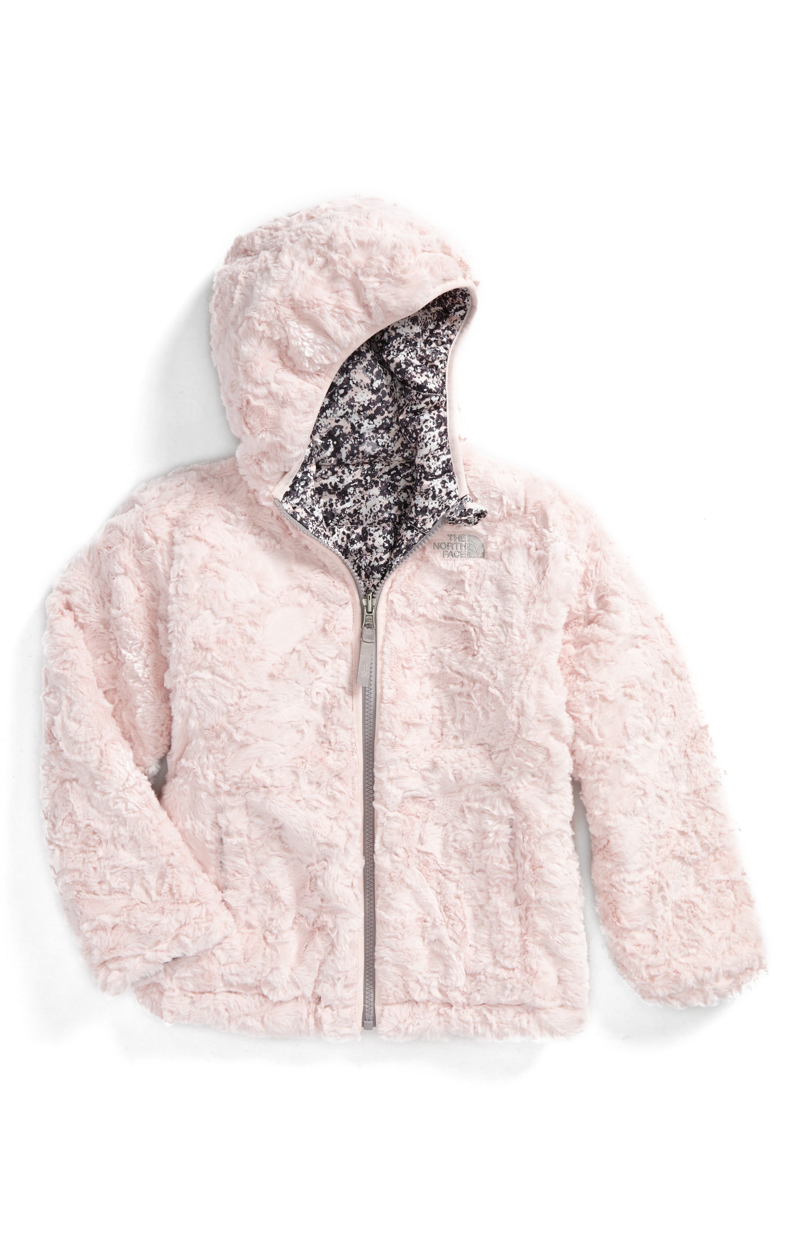 Mossbud Swirl Reversible Water Repellent Jacket,                             Alternate thumbnail 2, color,                             Purdy Pink Sponge Print