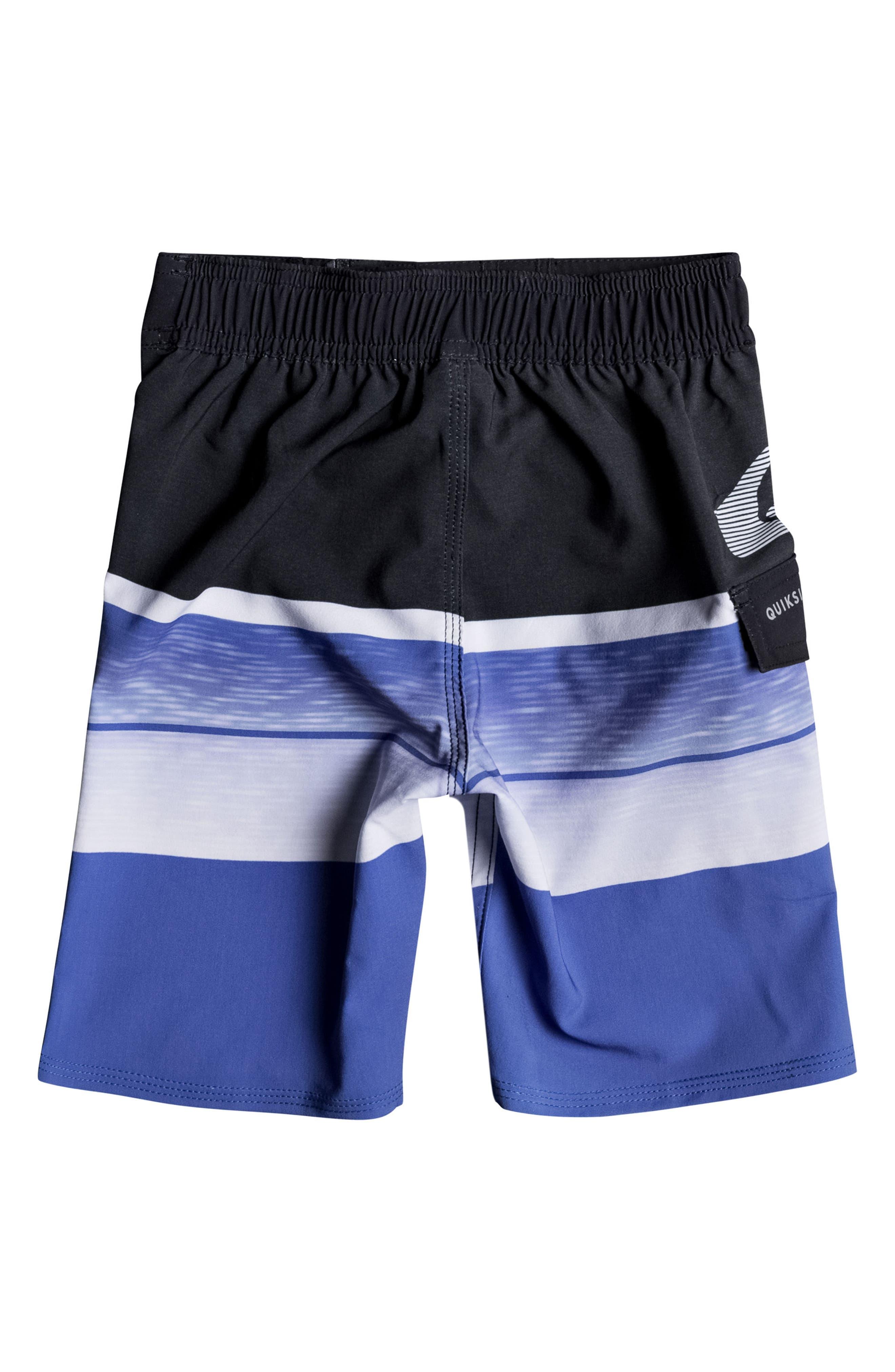 Slab Logo Board Shorts,                             Alternate thumbnail 2, color,                             Electric Blue