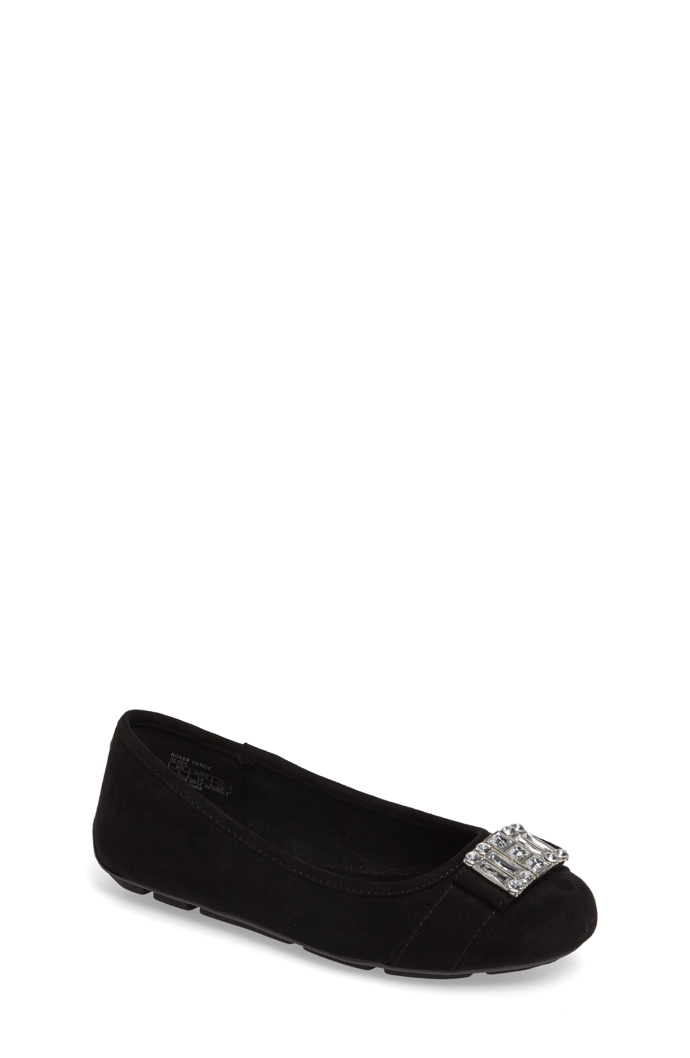 MICHAEL Michael Kors Rover Kenzie Embellished Ballet Flat (Little Kid & Big Kid)