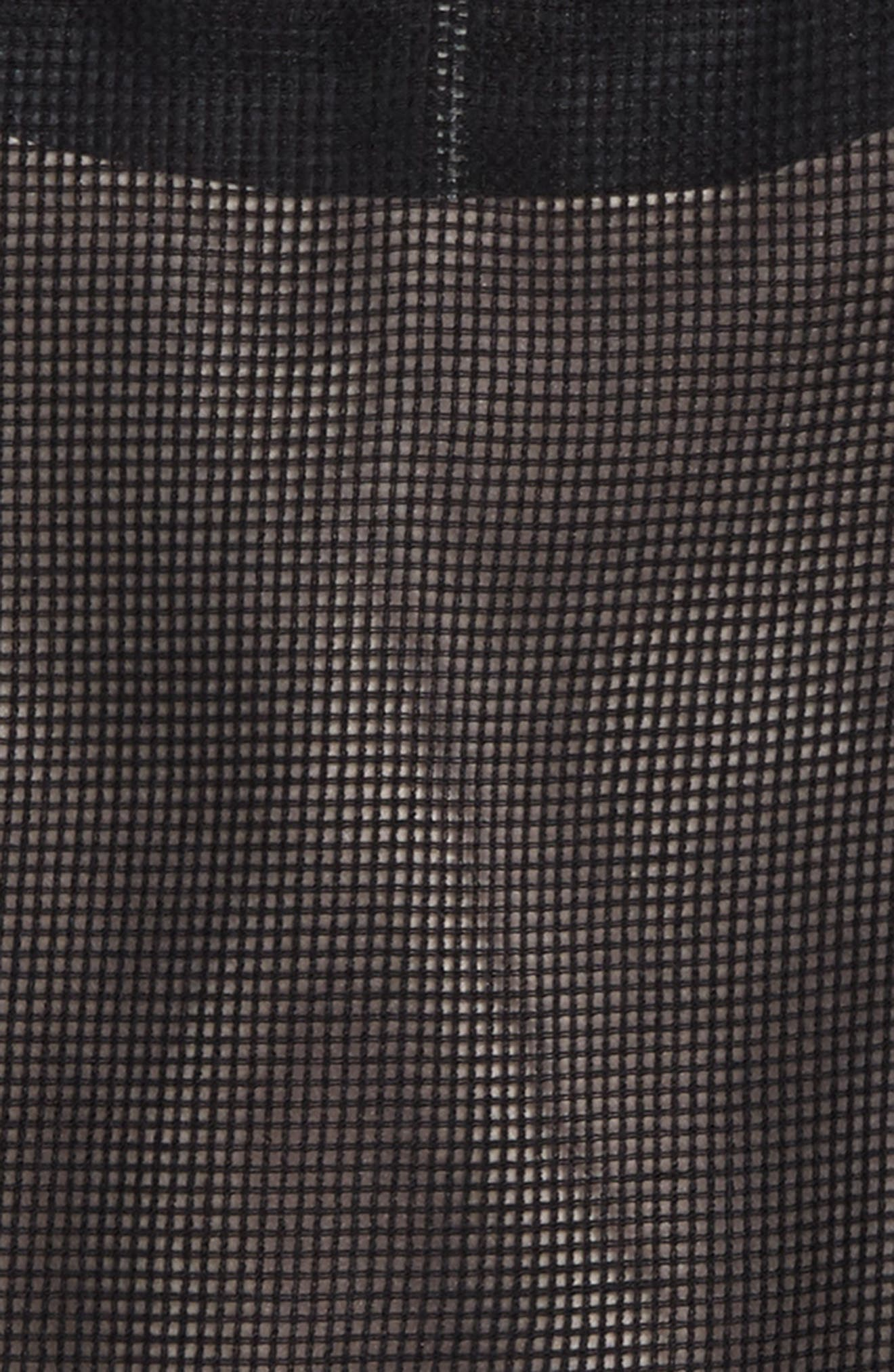Blaire Mesh Top,                             Alternate thumbnail 2, color,                             Black