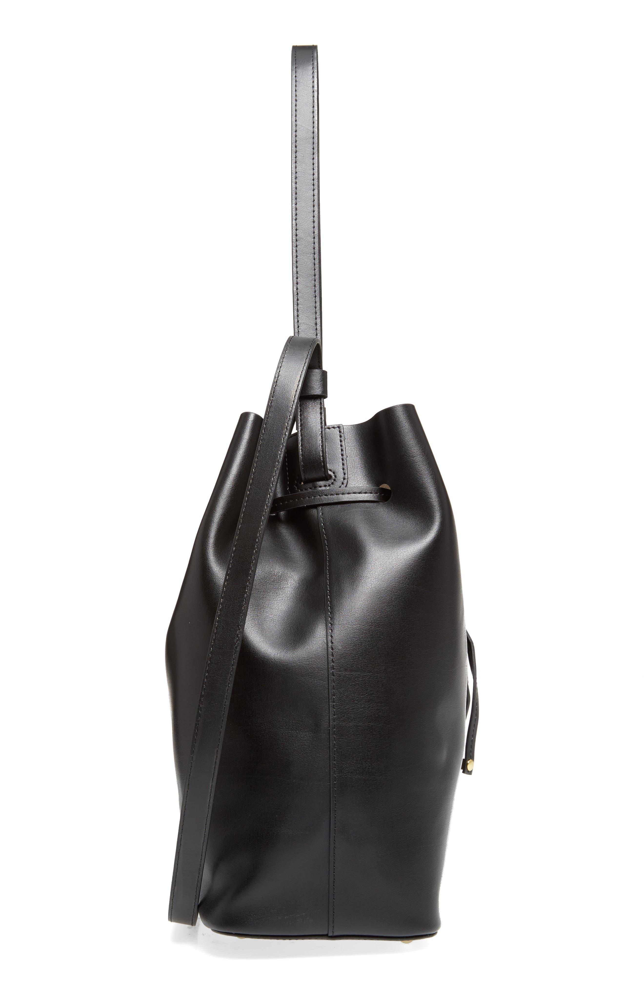 Alternate Image 5  - Lodis Silicon Valley Large Halina Leather Bucket Bag