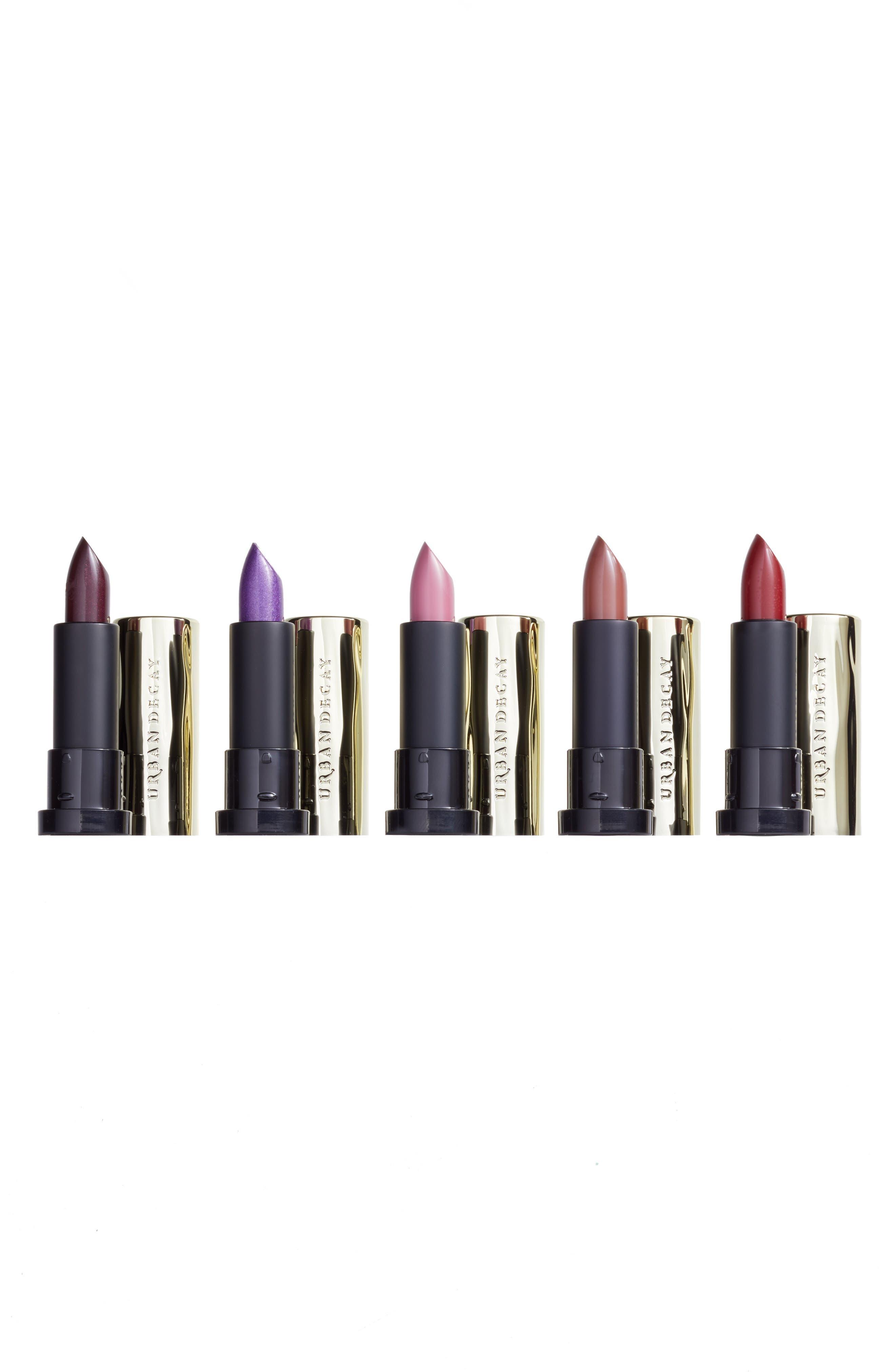 Main Image - Urban Decay Little Vices 5-Piece Lipstick Sample Set