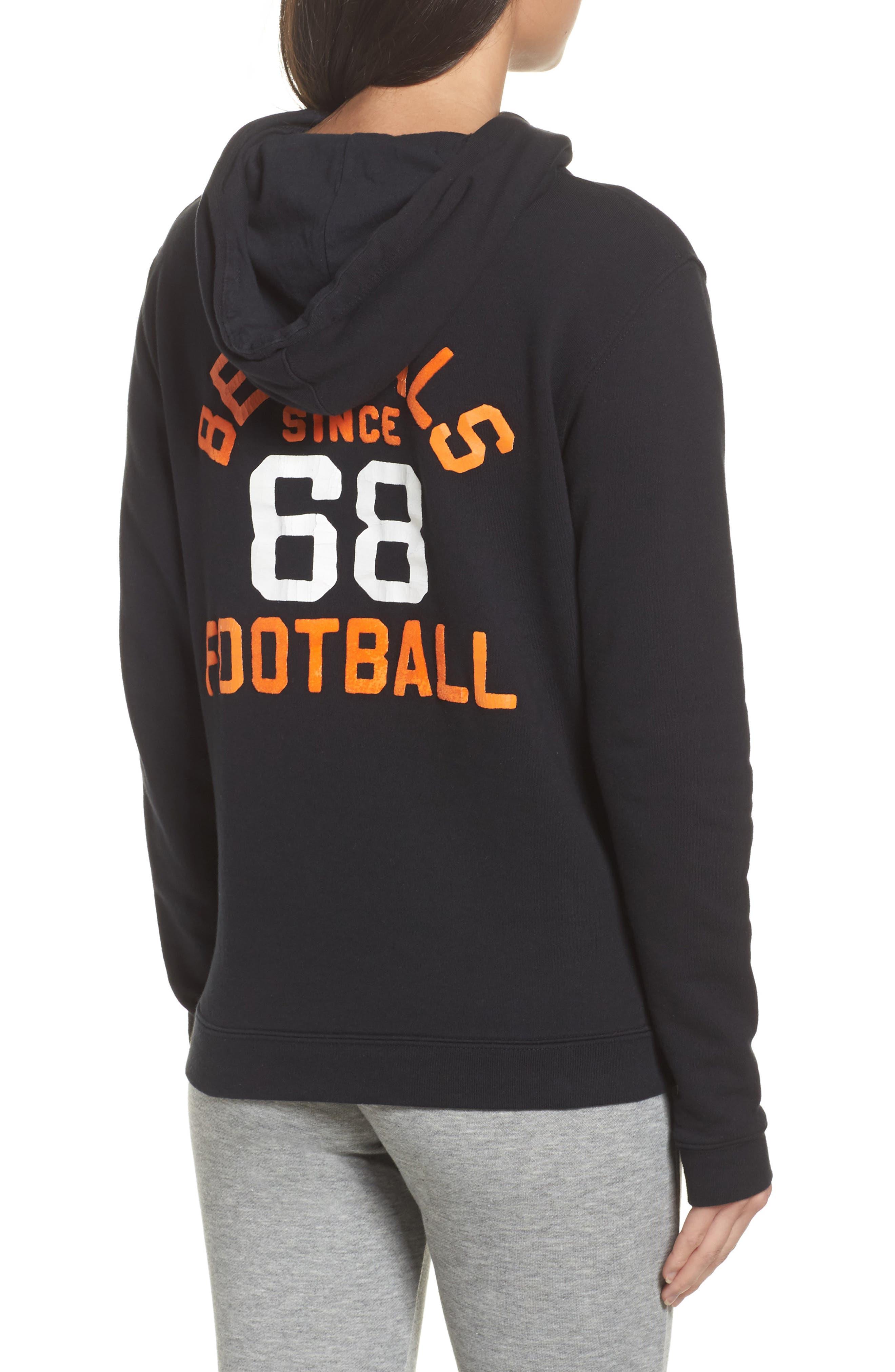 NFL Cincinnati Bengals Sunday Hoodie,                             Alternate thumbnail 2, color,                             True Black