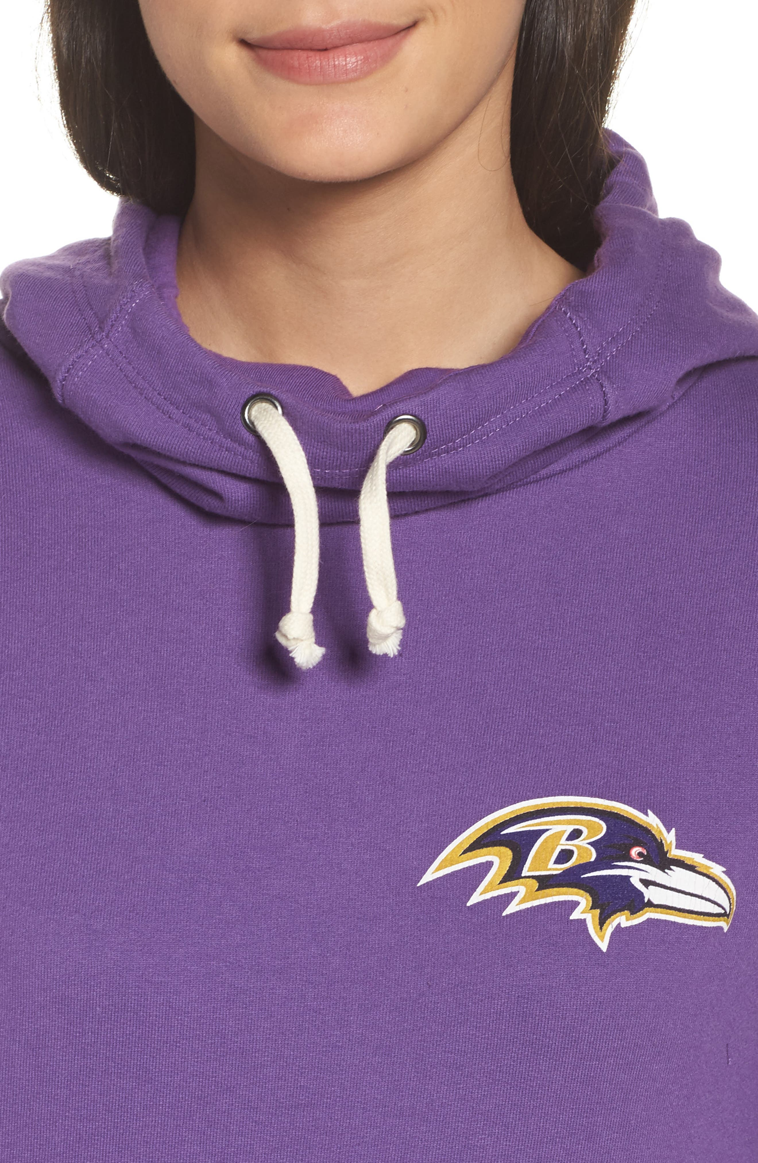 Alternate Image 5  - Junk Food NFL Baltimore Ravens Sunday Hoodie