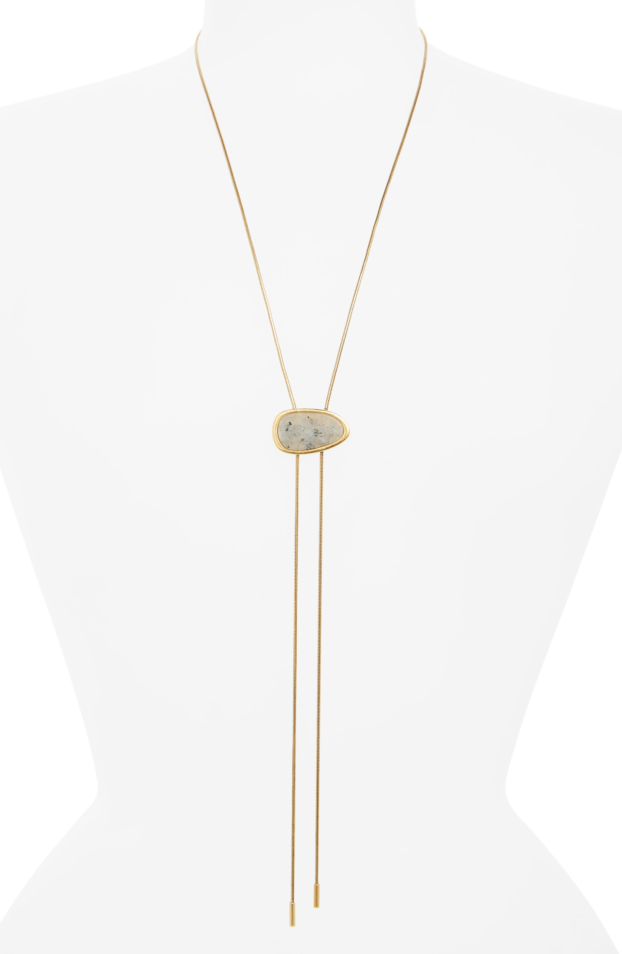 Main Image - Madewell Bolo Necklace