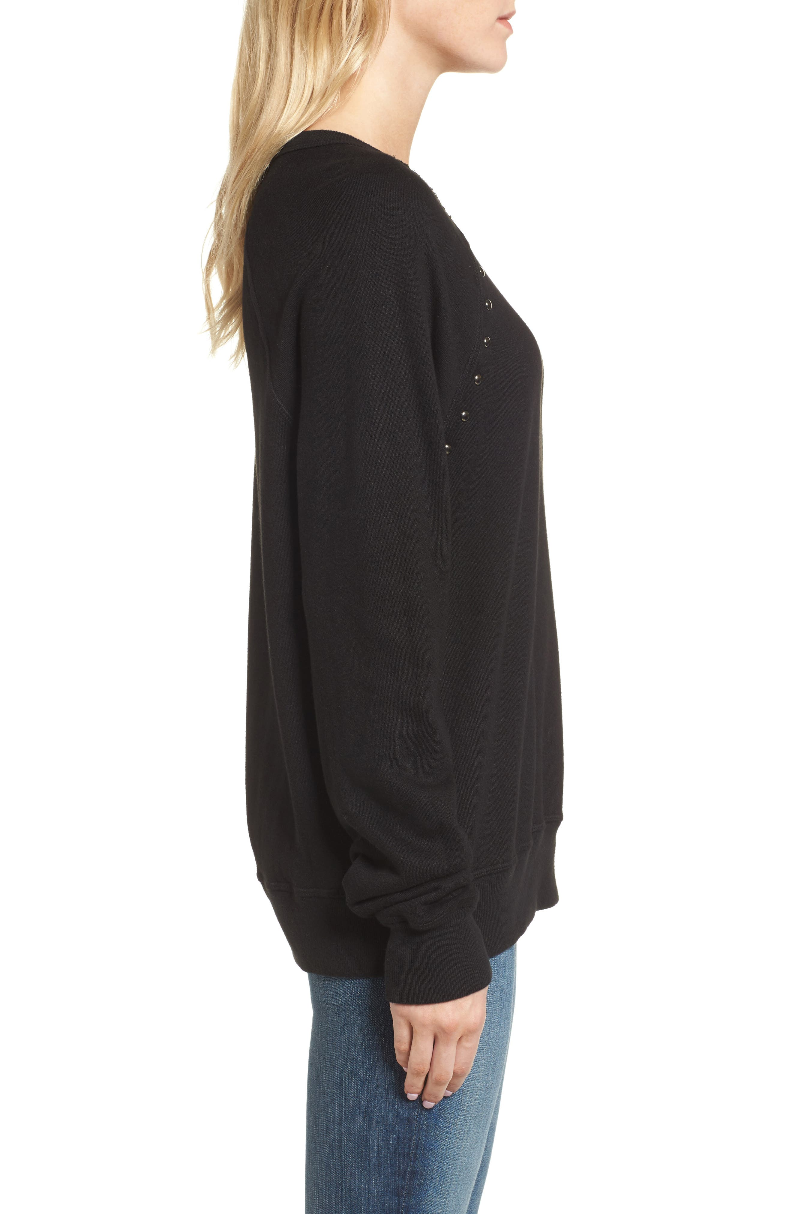 Alternate Image 3  - n:PHILANTHROPY Nic Studded Sweatshirt