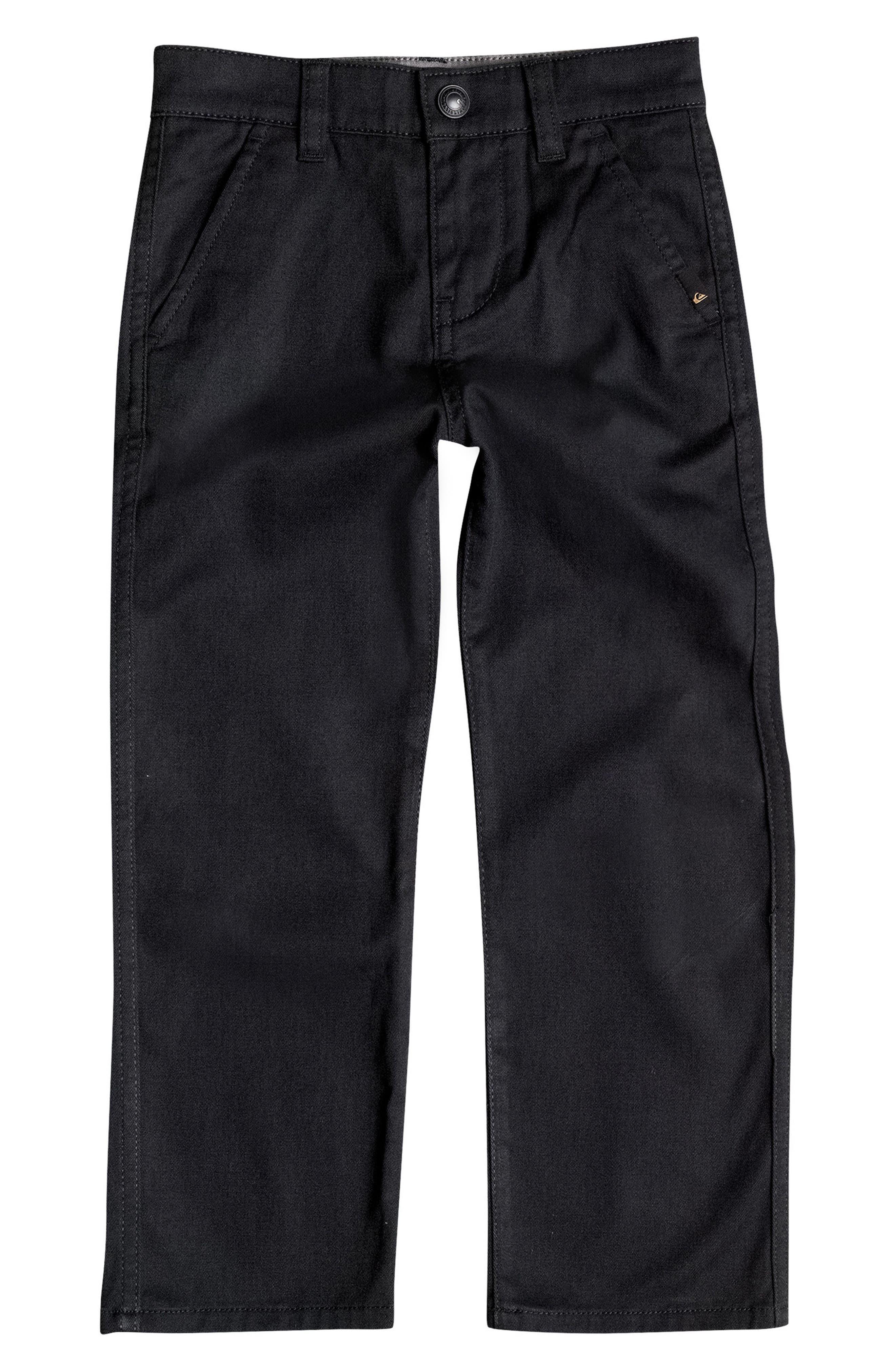 Everyday Union Pants,                             Main thumbnail 1, color,                             Black