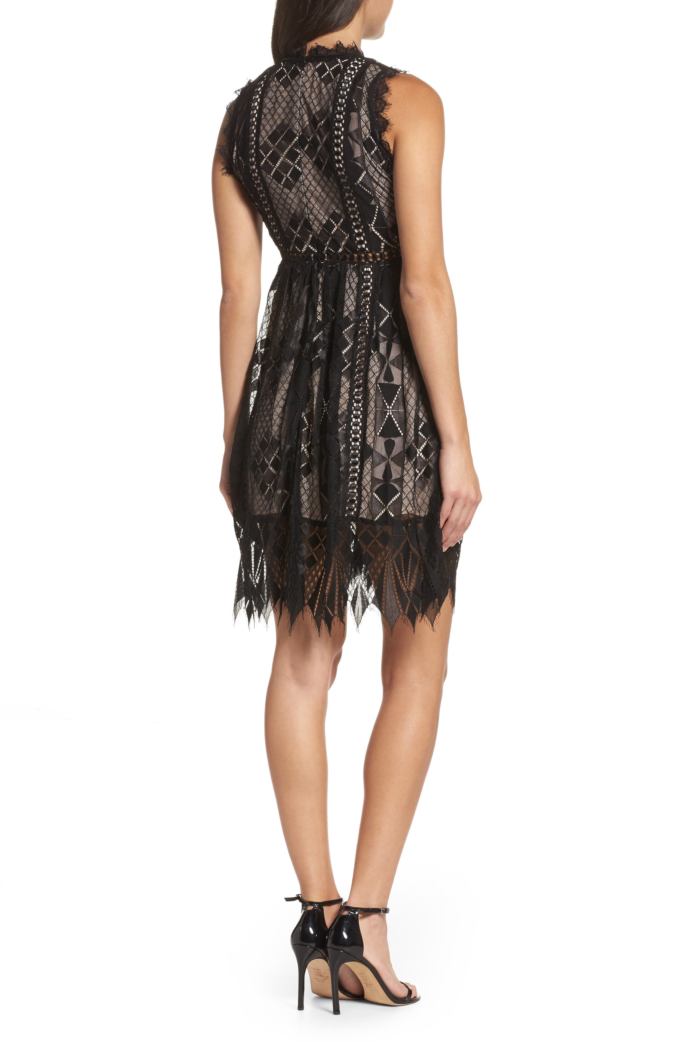 Alternate Image 2  - Foxiedox Florence Frills Dress