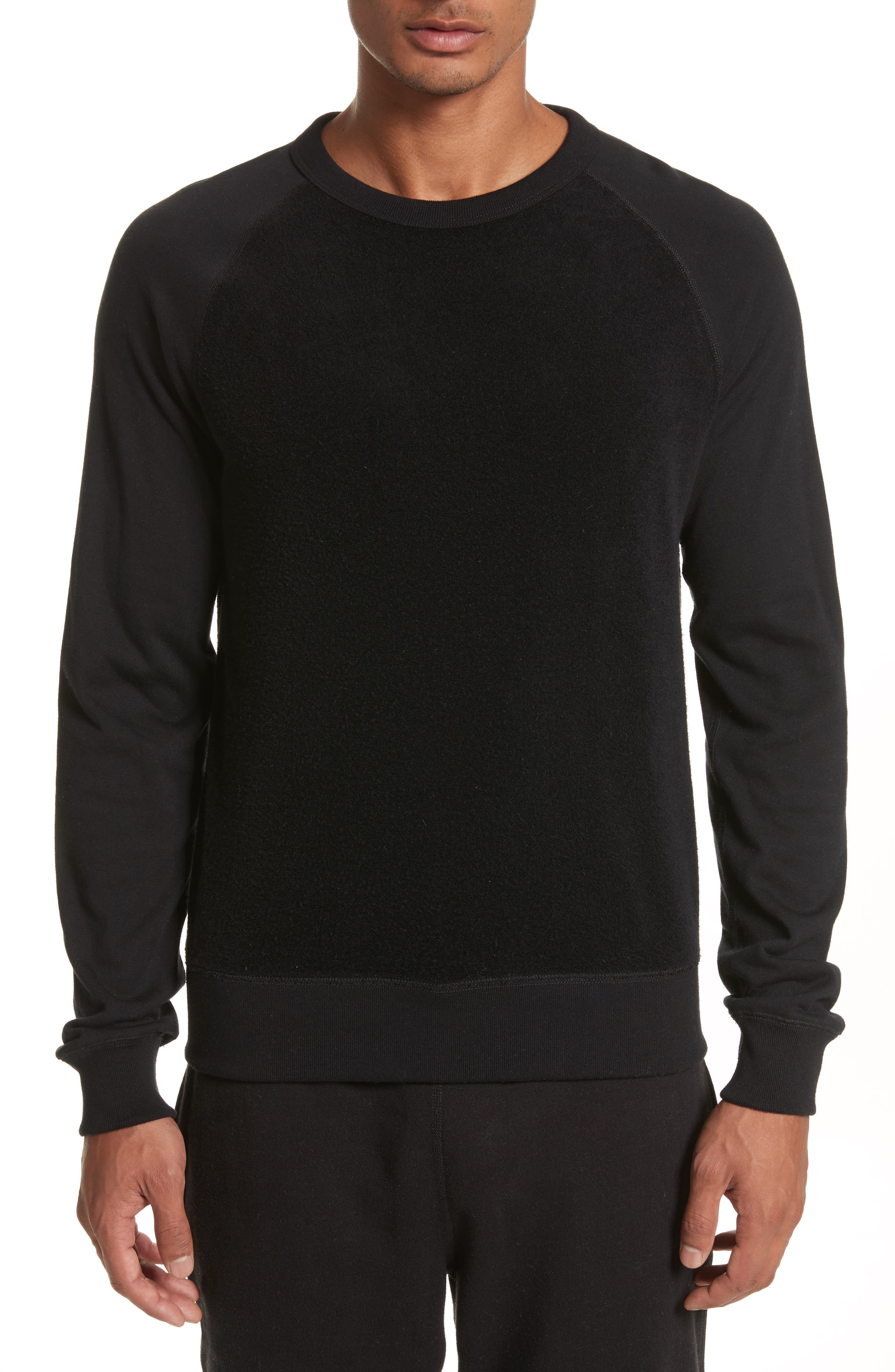 Main Image - Todd Snyder Textured Crewneck Pullover