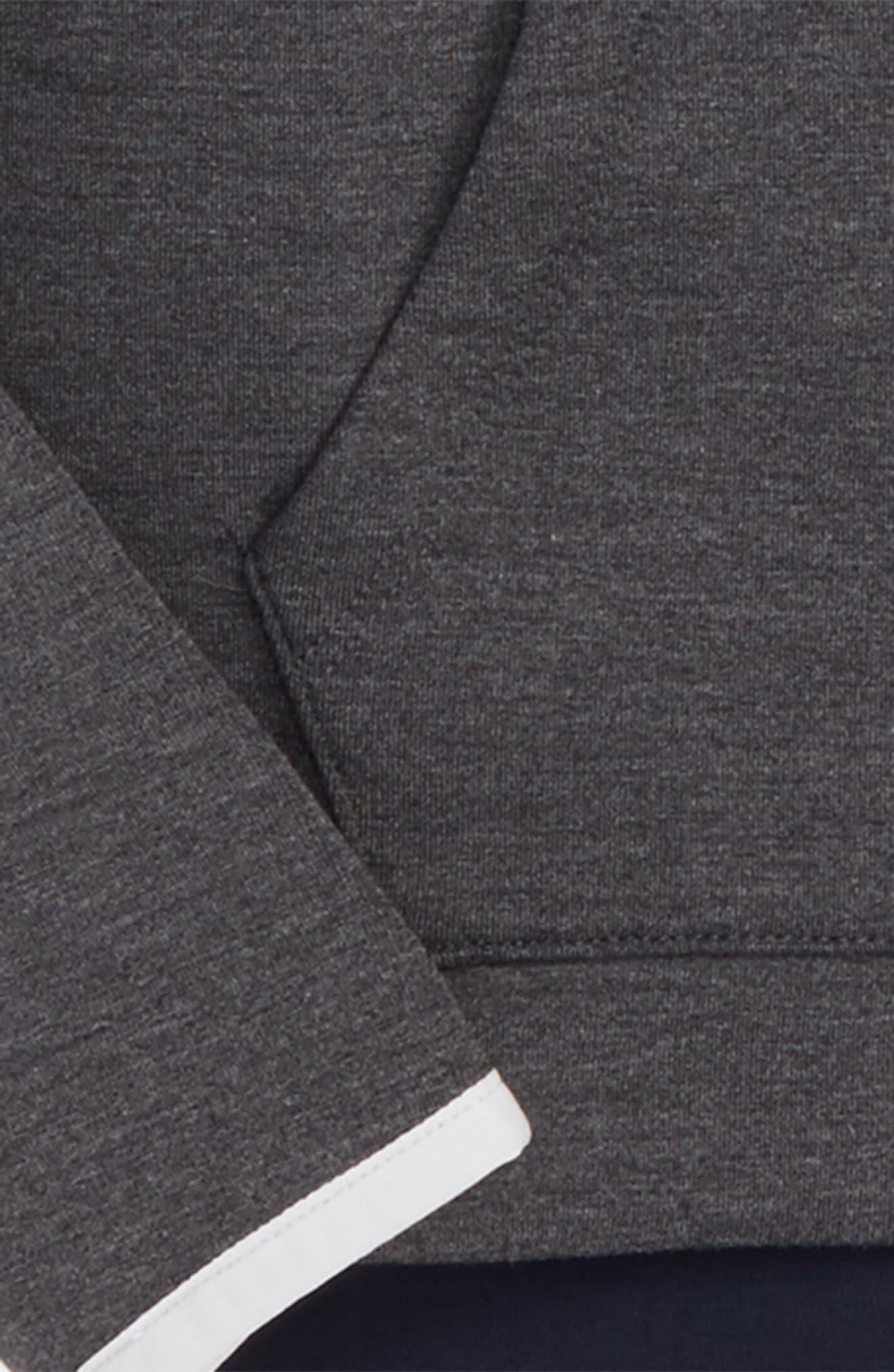 Alternate Image 2  - Zella Girl Raglan Sleeve Zip-Up Jacket (Little Girls & Big Girls)