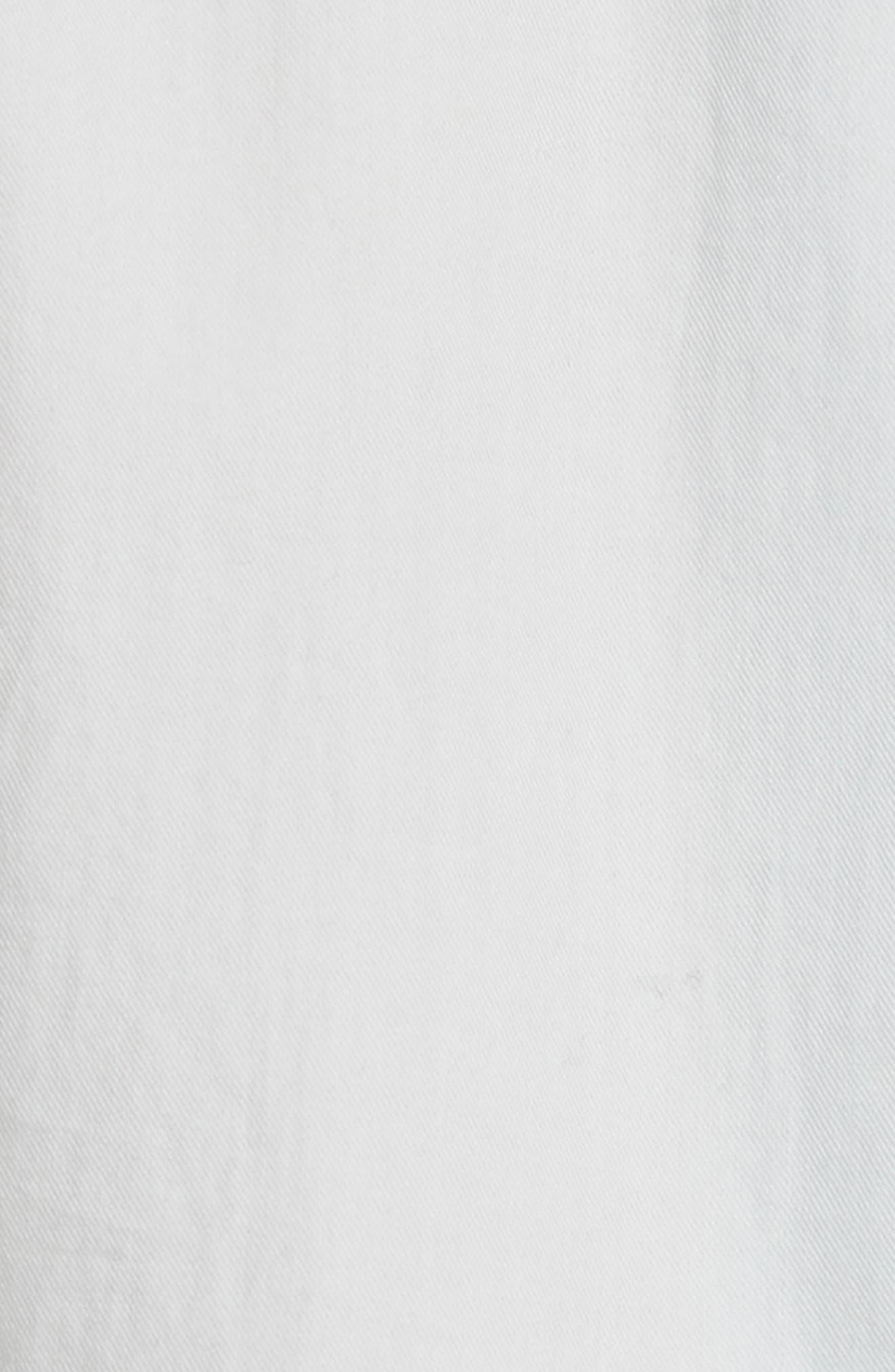 Alternate Image 5  - Vince Single Pocket Cotton & Silk Shirt