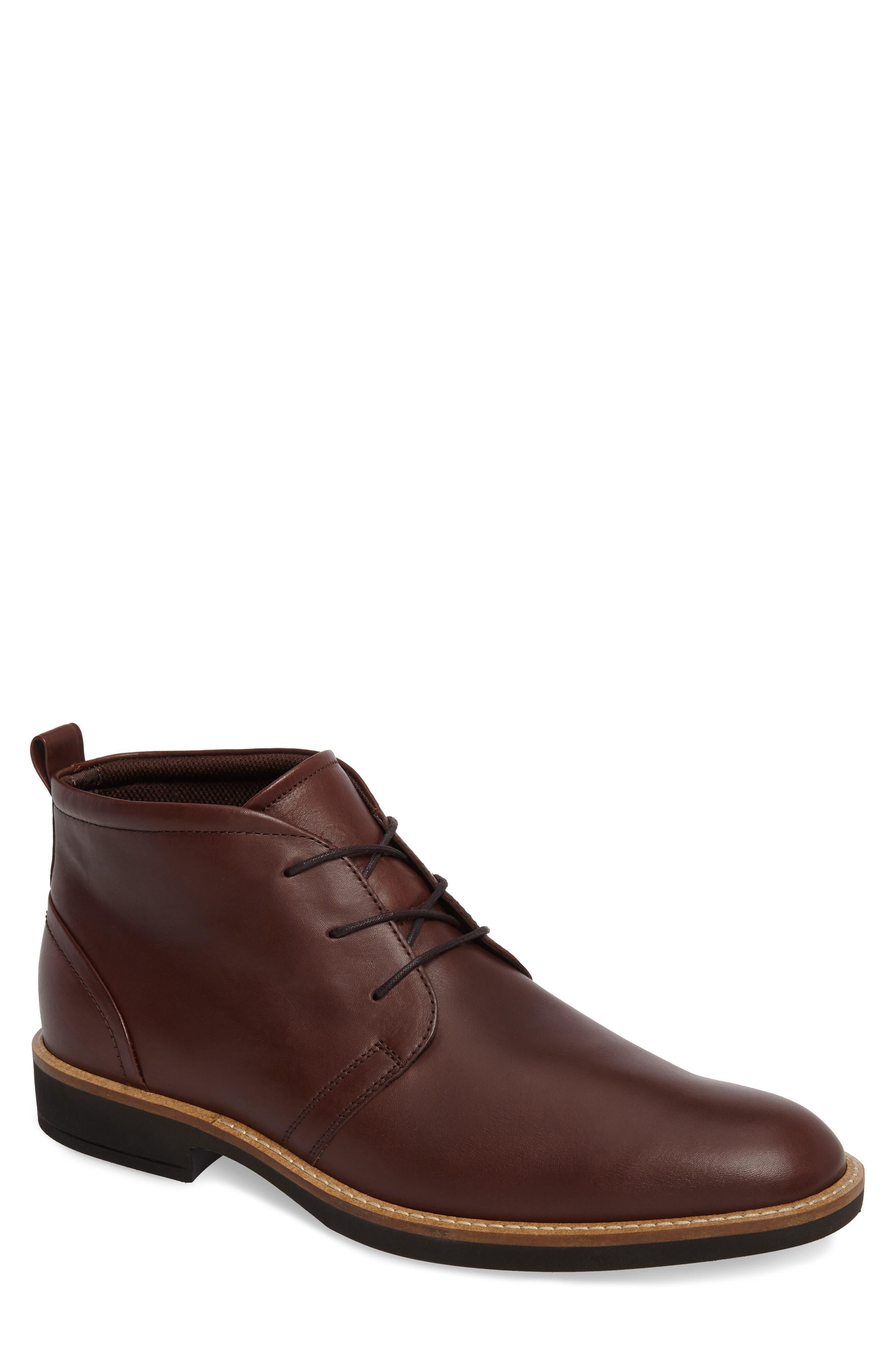 Biarritz Chukka Boot,                             Main thumbnail 1, color,                             Rust Leather