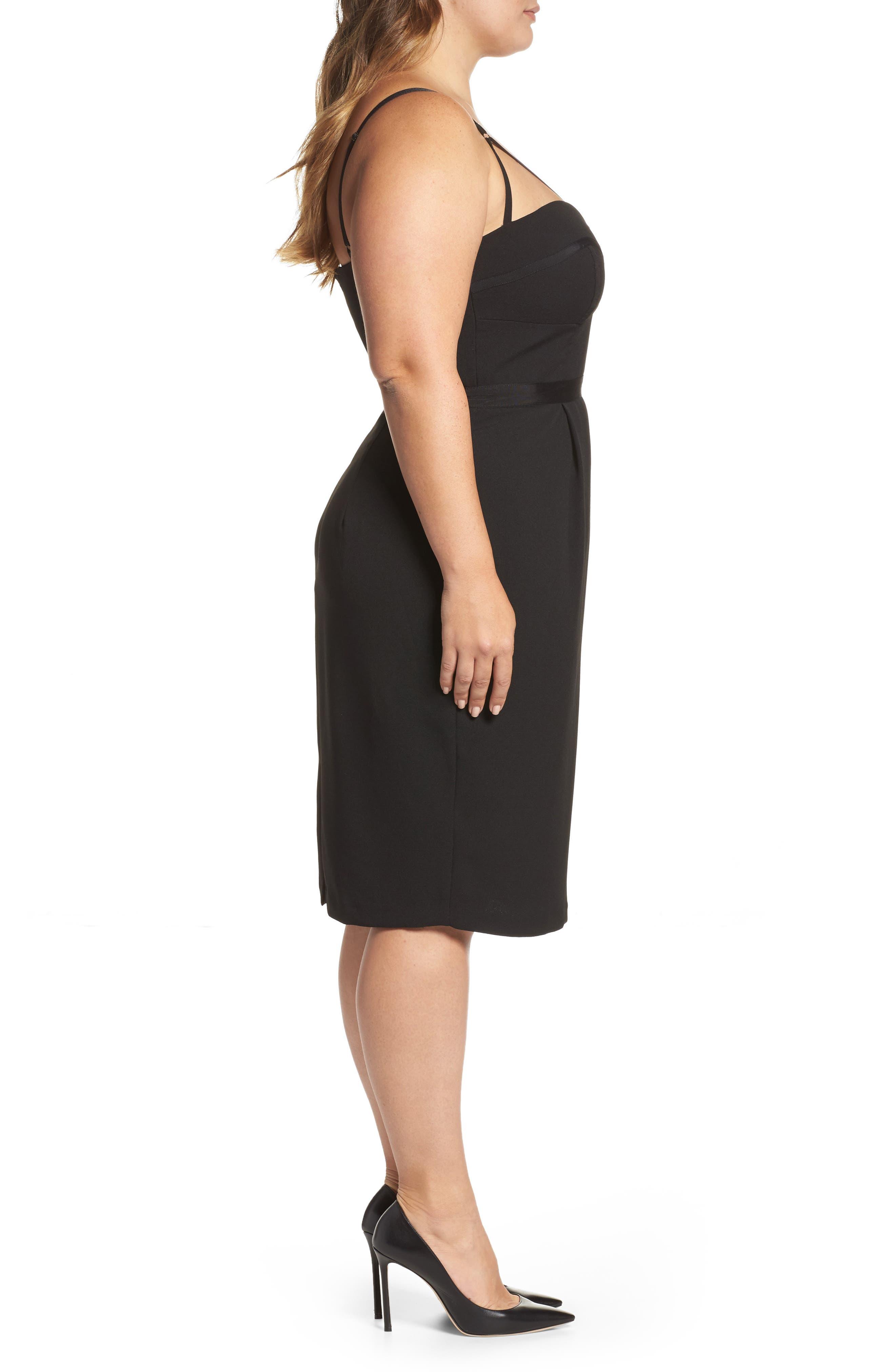 Alternate Image 3  - City Chic 'Undress Me' Dress (Plus Size)