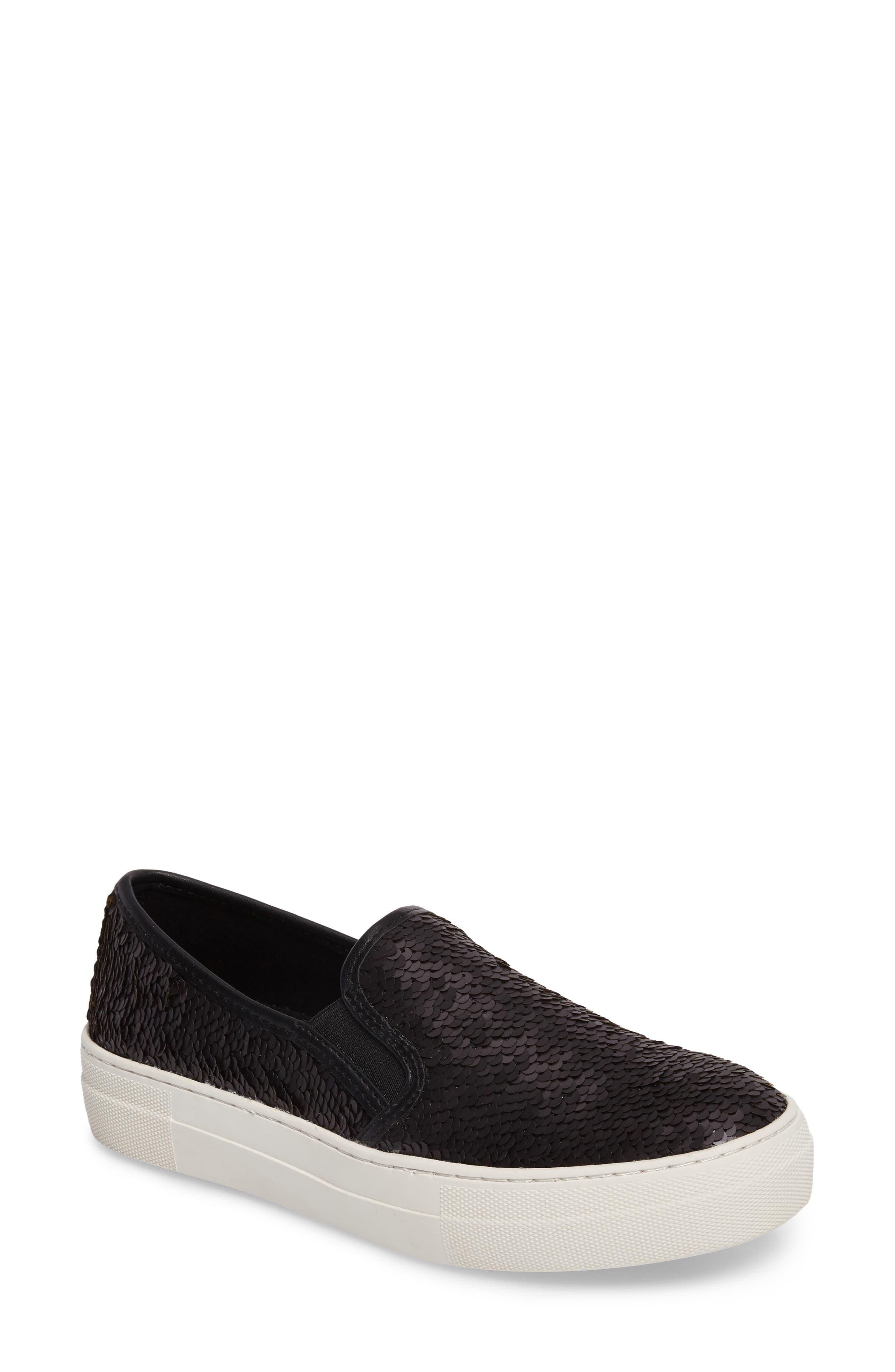 Alternate Image 1 Selected - Steve Madden Gills Sequined Slip-On Platform Sneaker (Women)