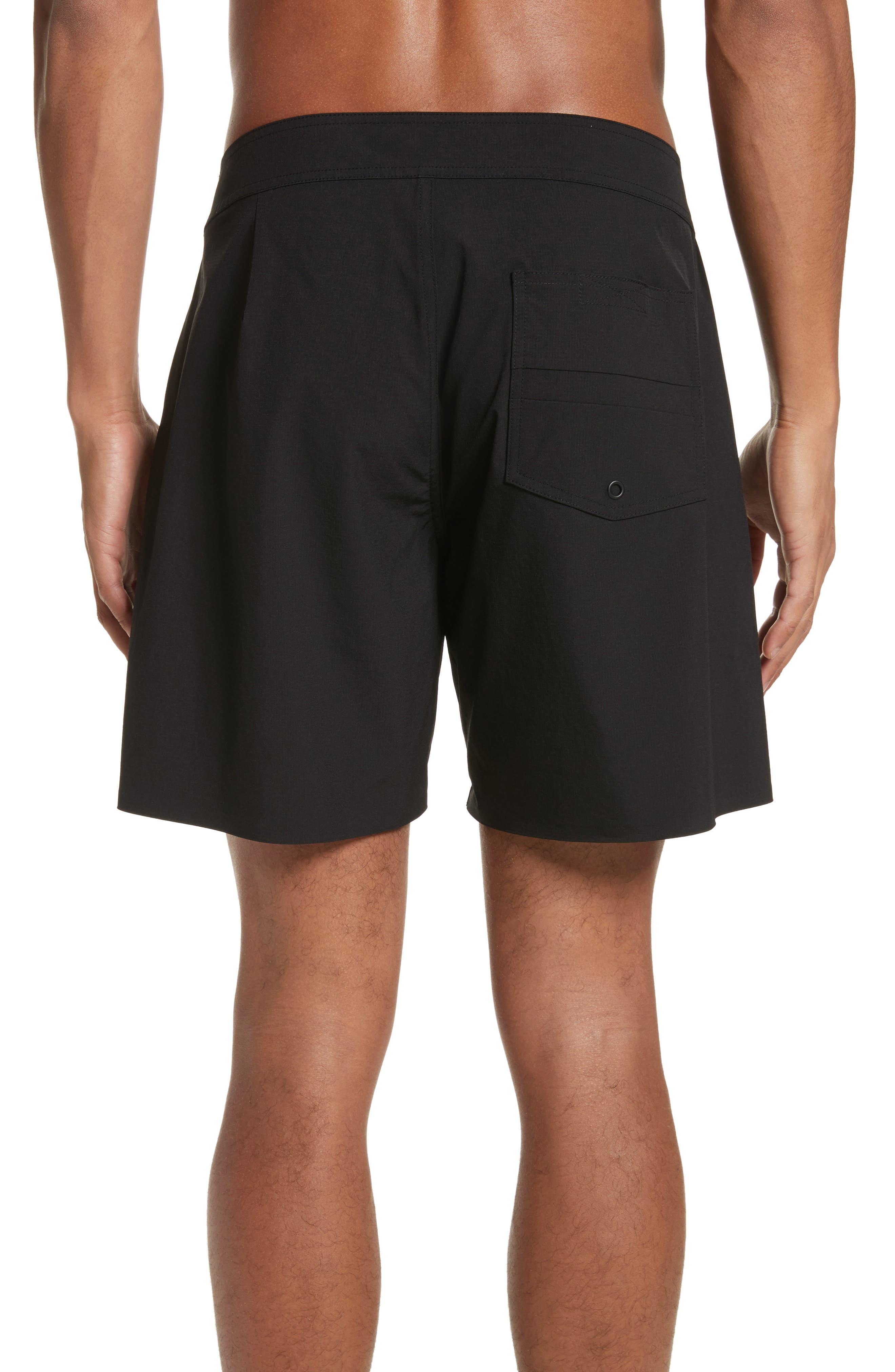 Danny Board Shorts,                             Alternate thumbnail 2, color,                             Black