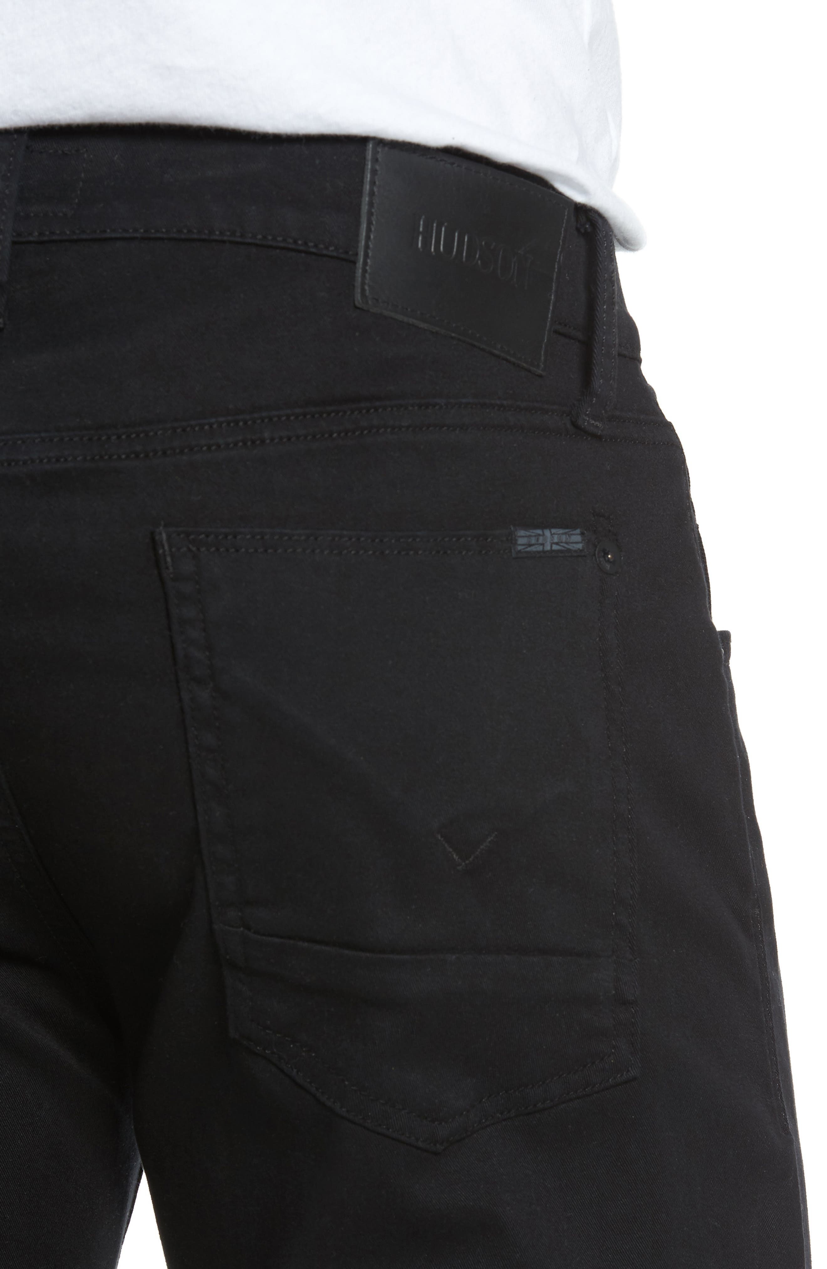 Blake Slim Fit Jeans,                             Alternate thumbnail 4, color,                             Blackened