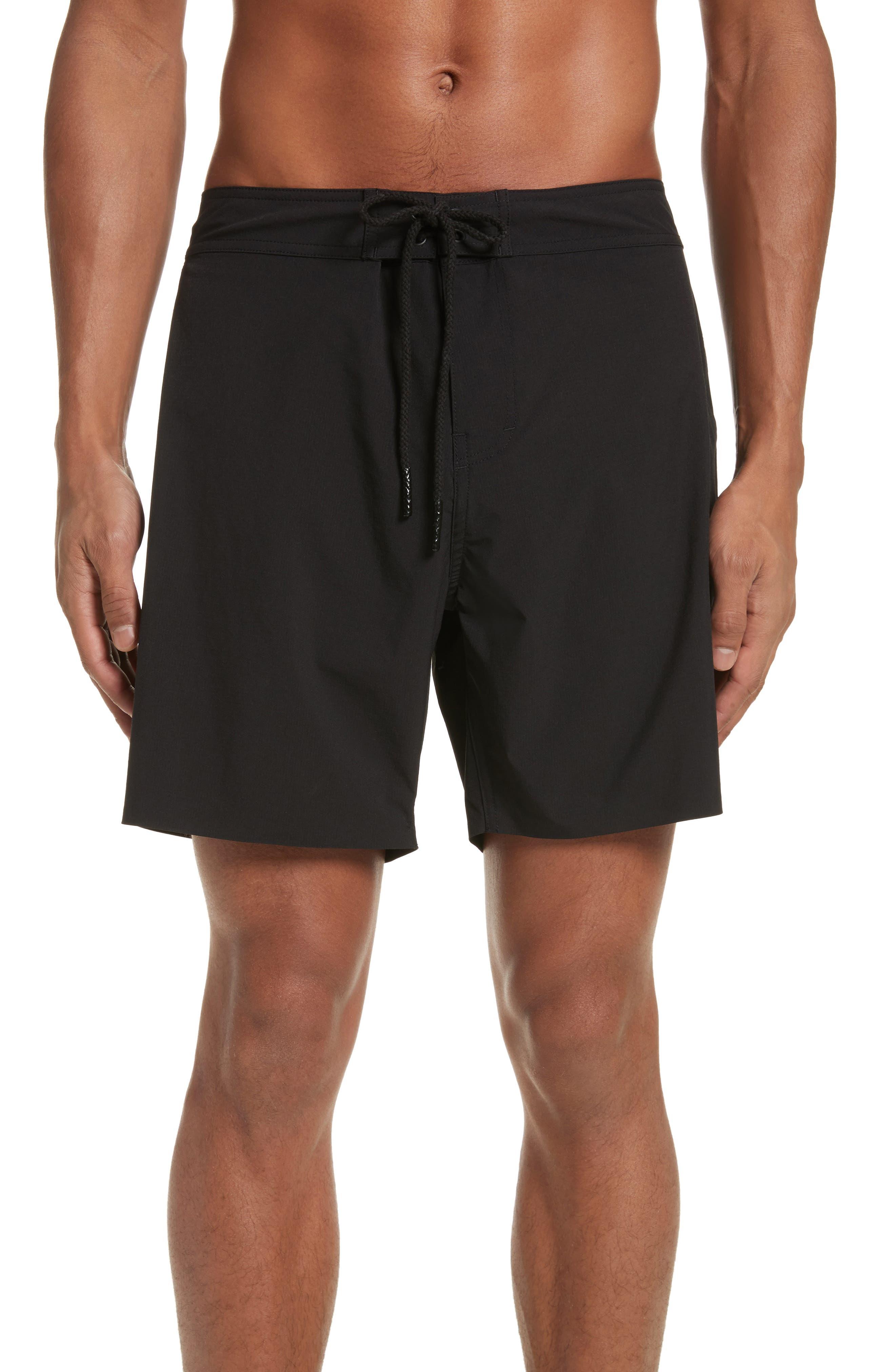 Danny Board Shorts,                             Main thumbnail 1, color,                             Black