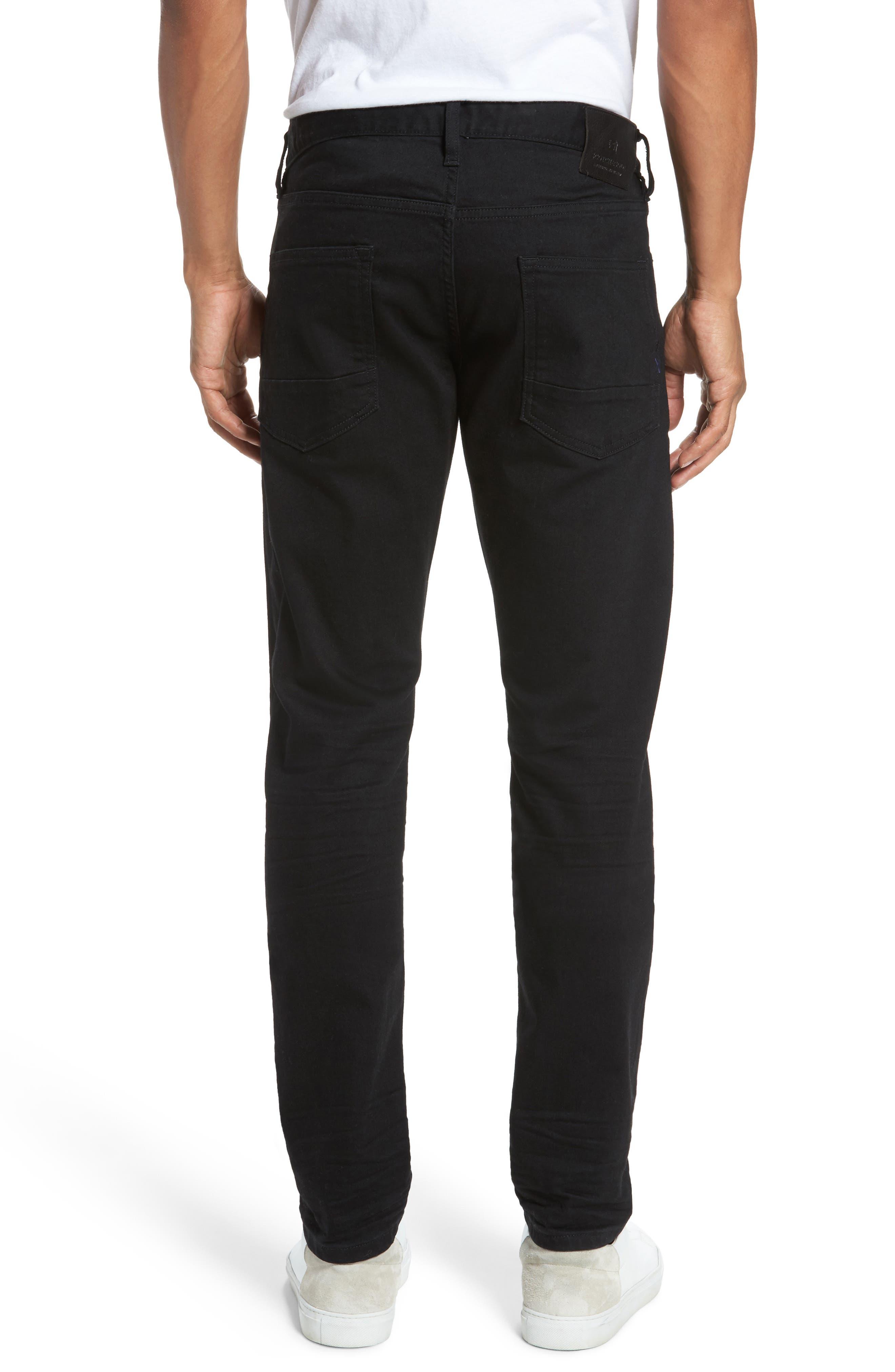 Alternate Image 2  - Scotch & Soda Ralston Slim Straight Leg Jeans (Stay Black)