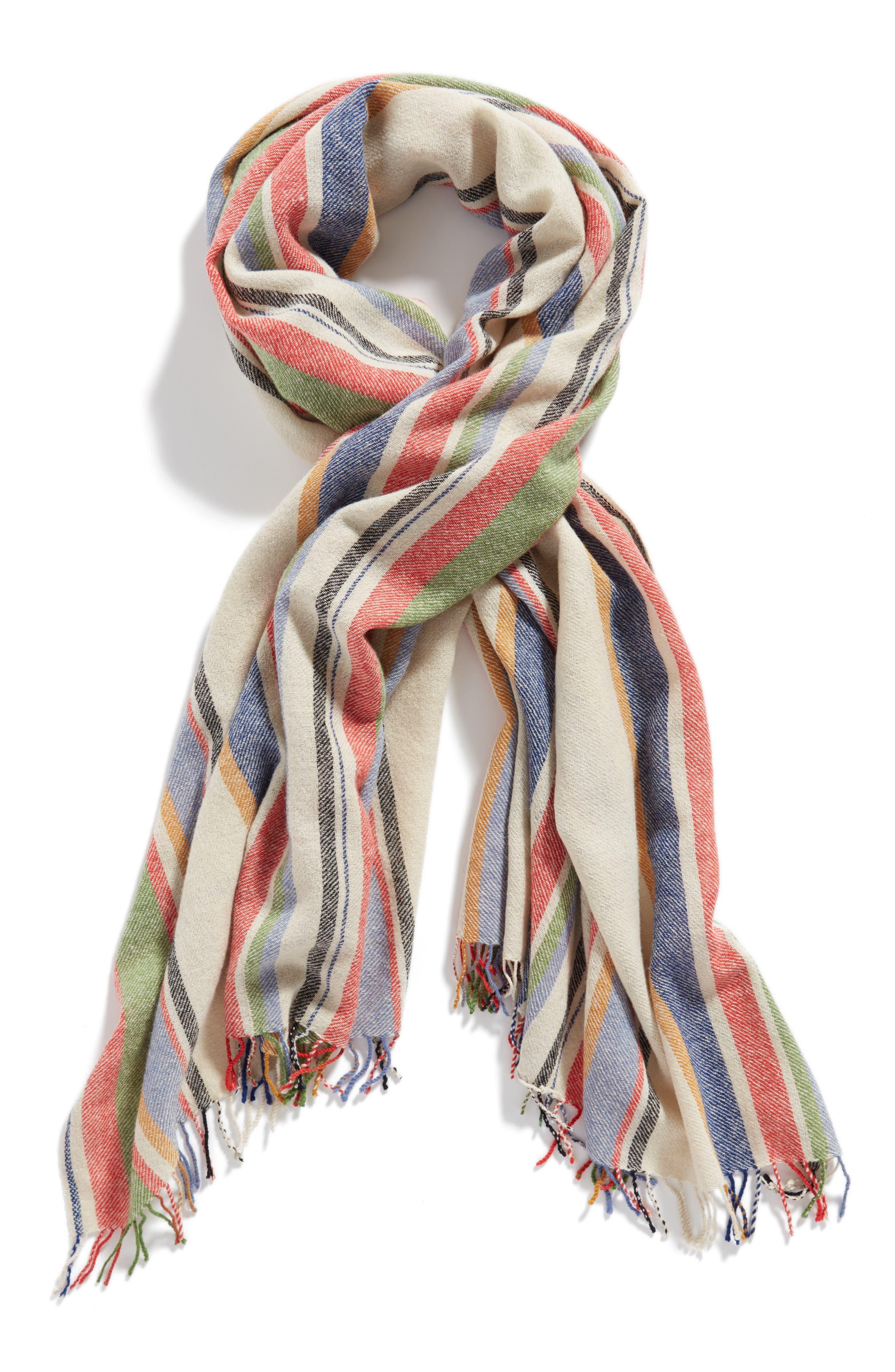 Alternate Image 3  - Standard Form Variance Wool & Cashmere Scarf