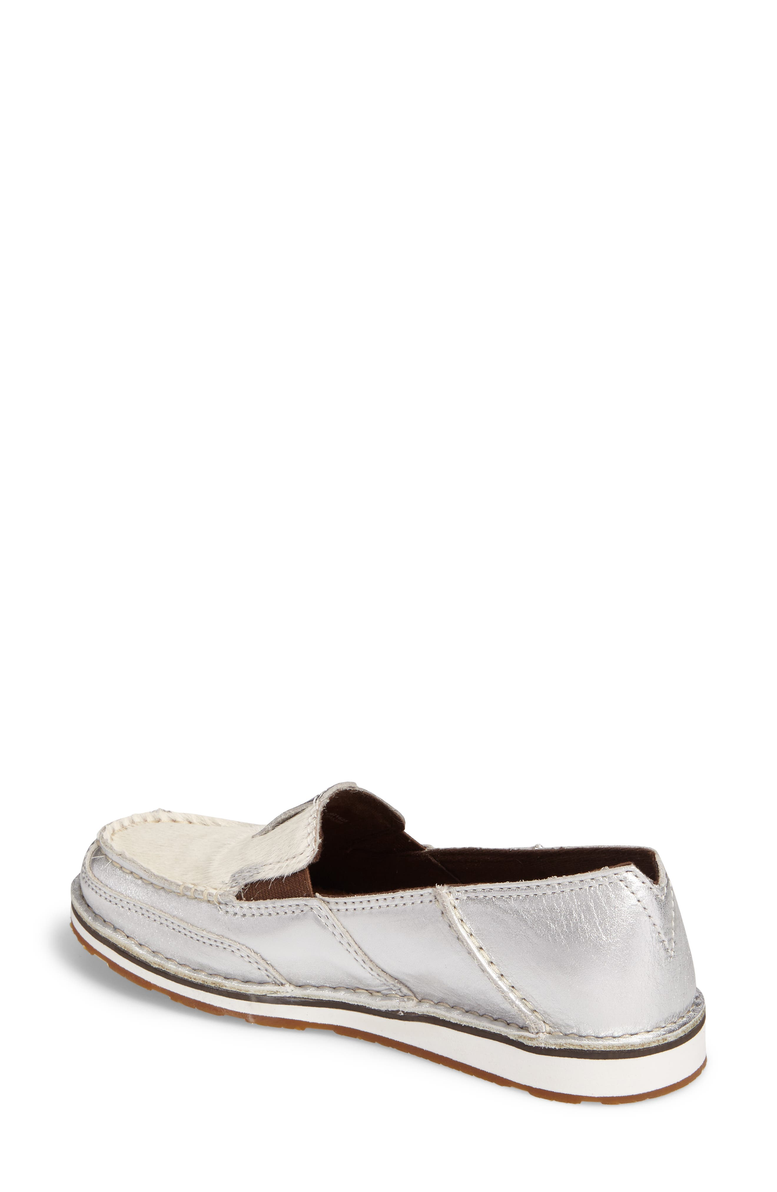 Alternate Image 2  - Ariat Cruiser Genuine Calf Hair Slip-On Loafer (Women)
