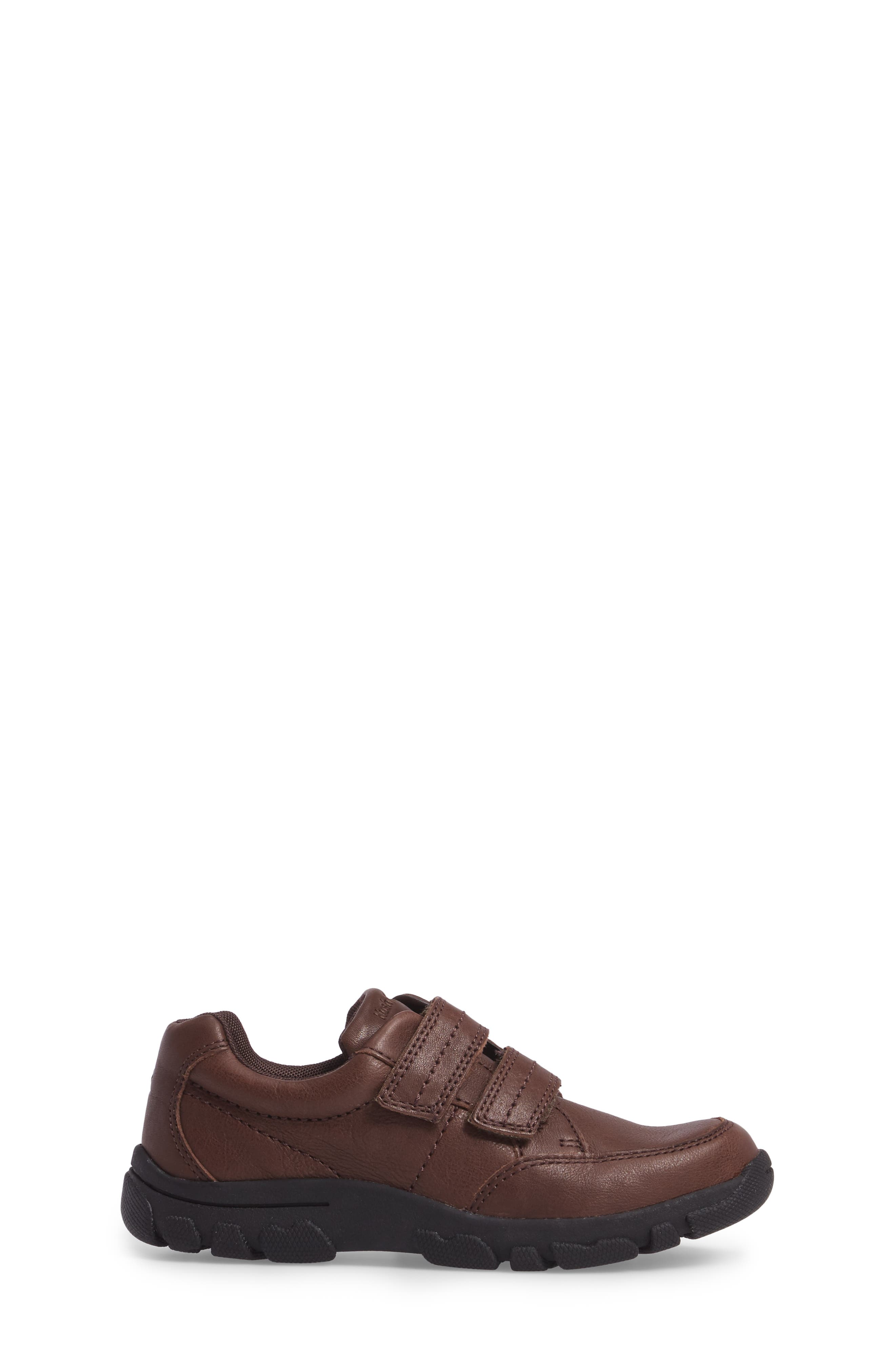 Jace Dress Sneaker,                             Alternate thumbnail 3, color,                             Brown Leather