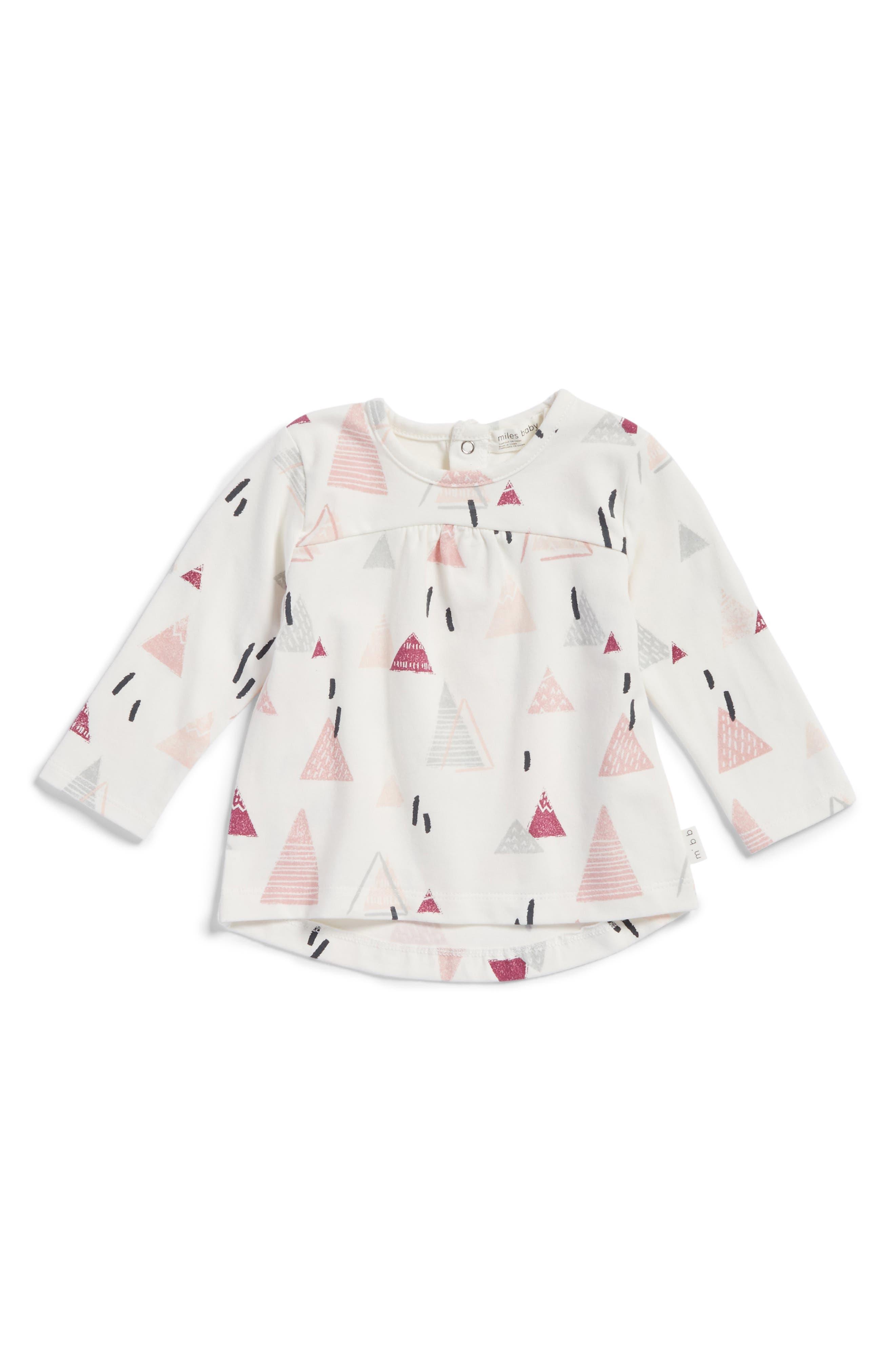 Miles Baby Geometric Print Shirt (Baby Girls)