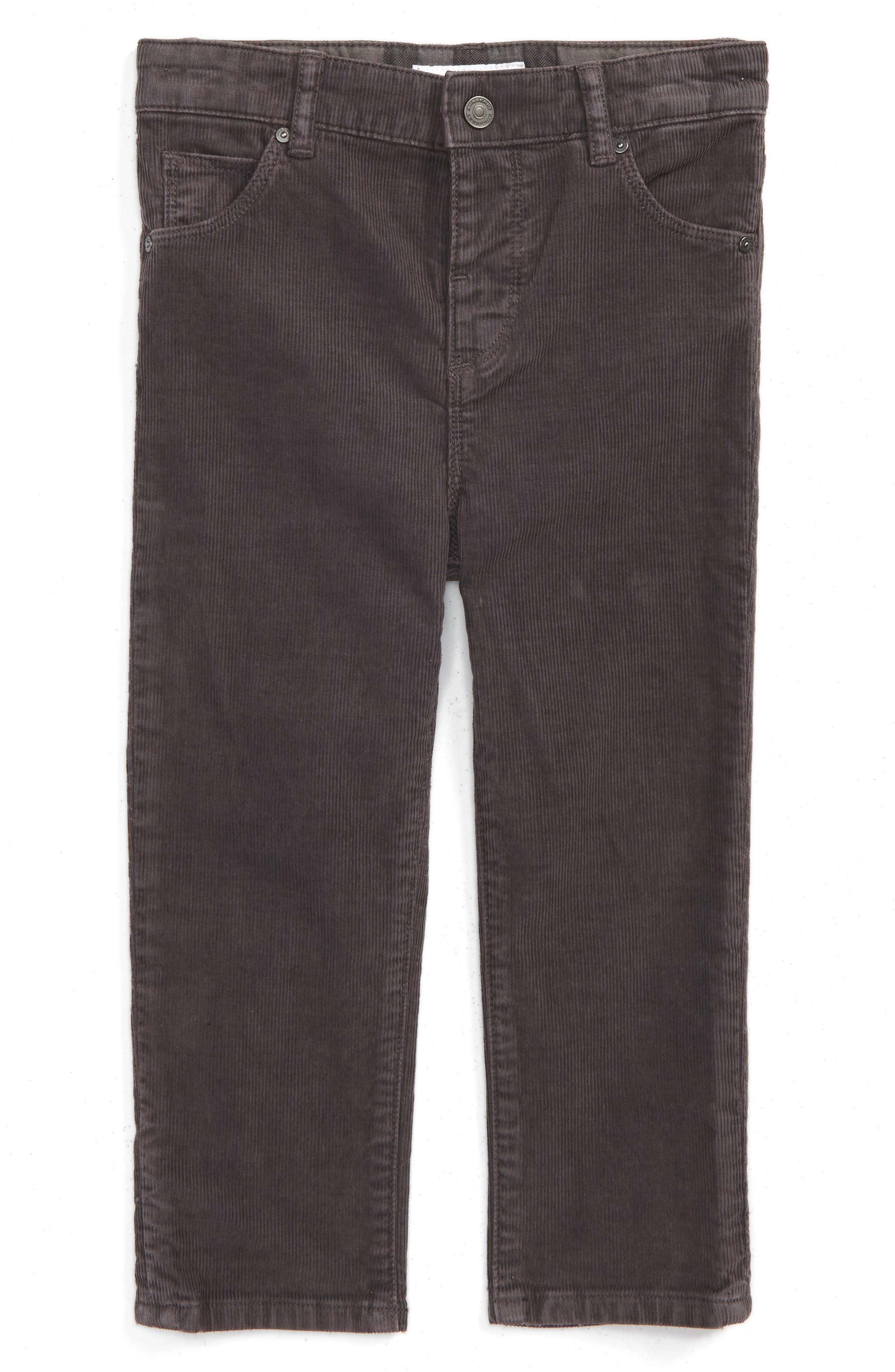 Burberry Langston Corduroy Skinny Pants (Toddler Boys)