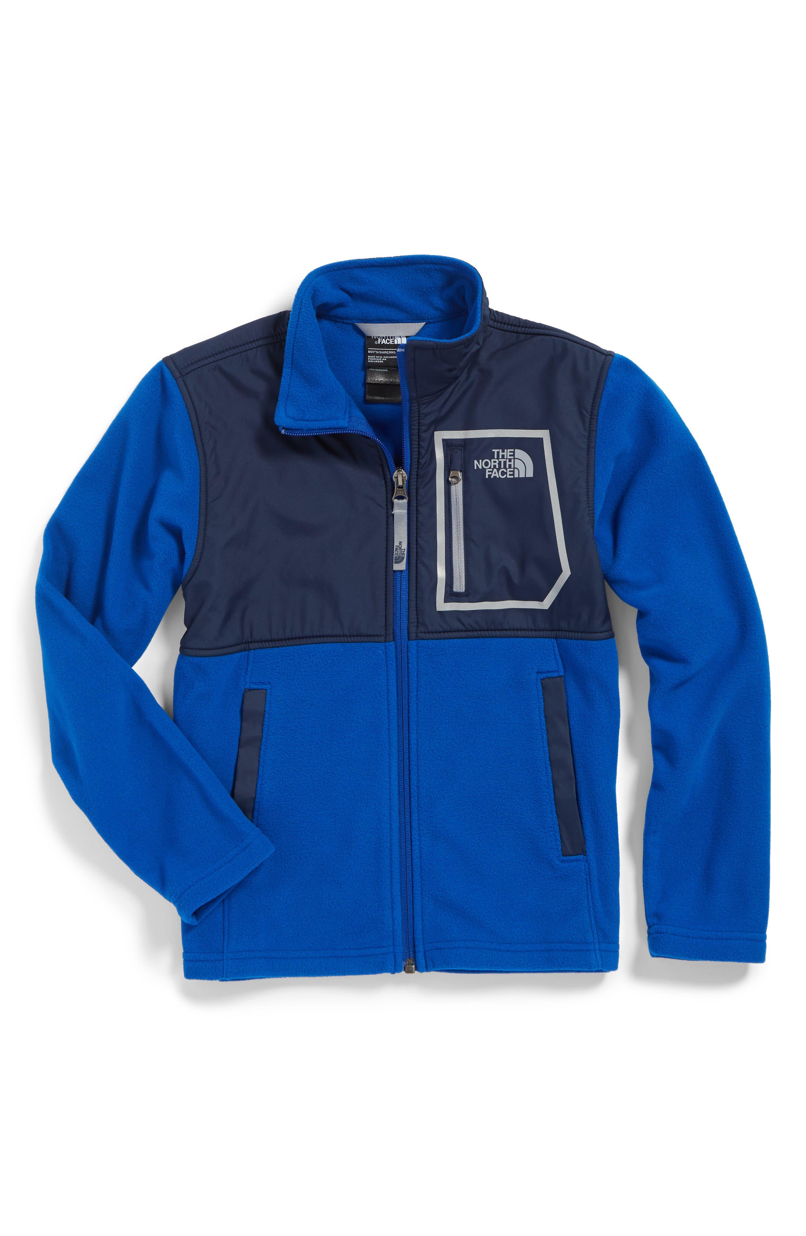 The North Face Glacier Microfleece Track Jacket (Big Boys)