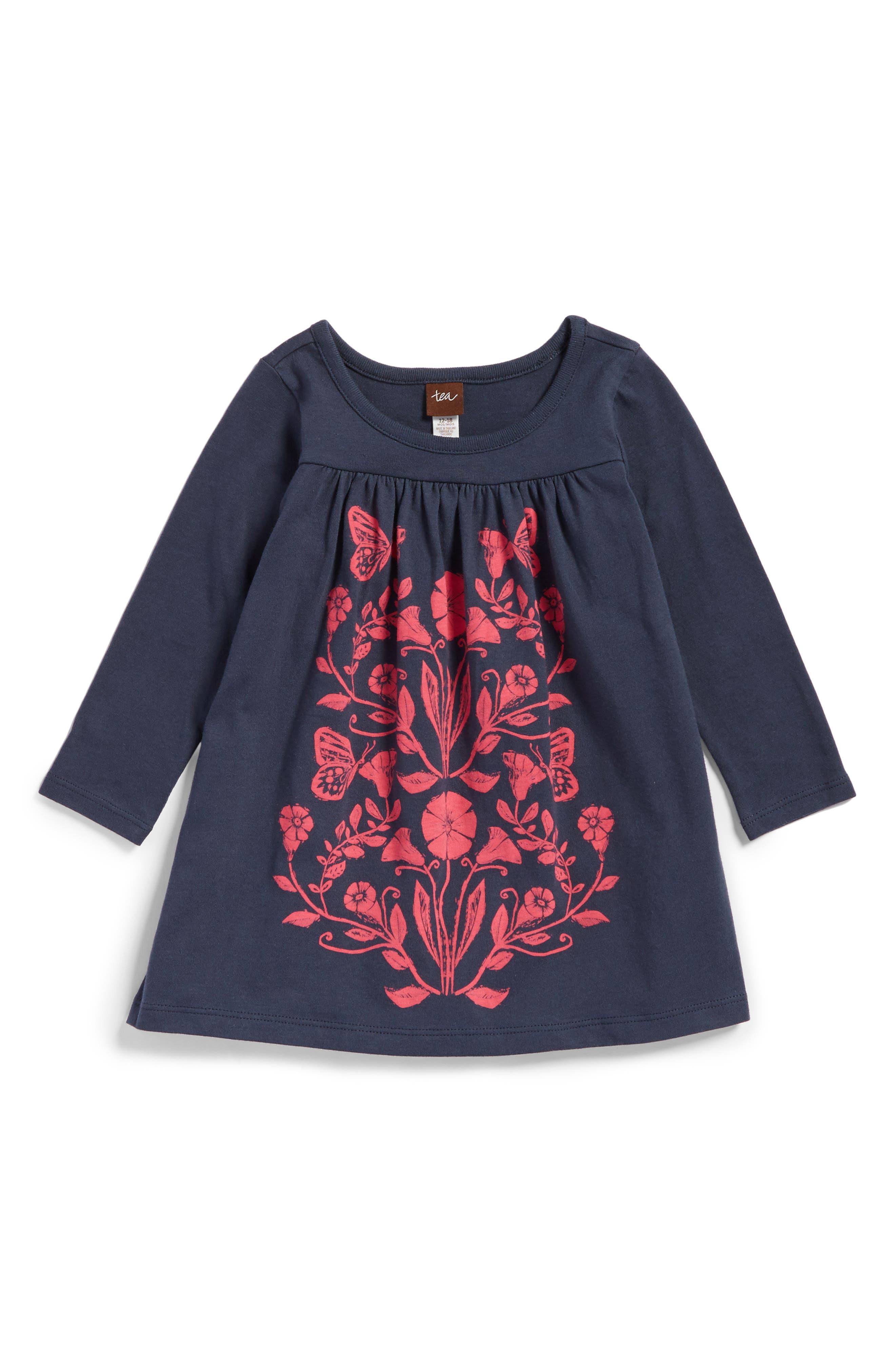 Cloudberry Graphic Dress,                         Main,                         color, Indigo